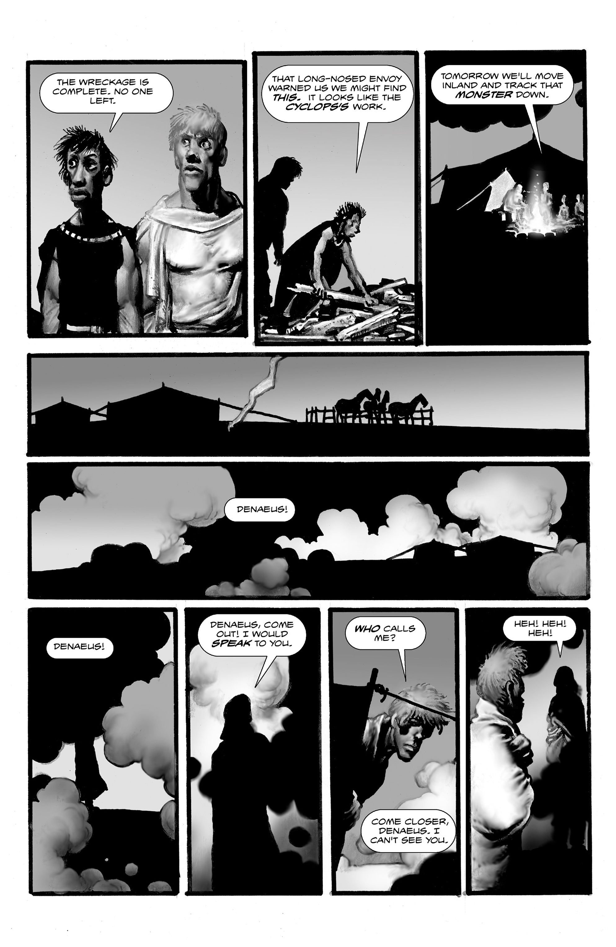 Read online Shadows on the Grave comic -  Issue #3 - 33