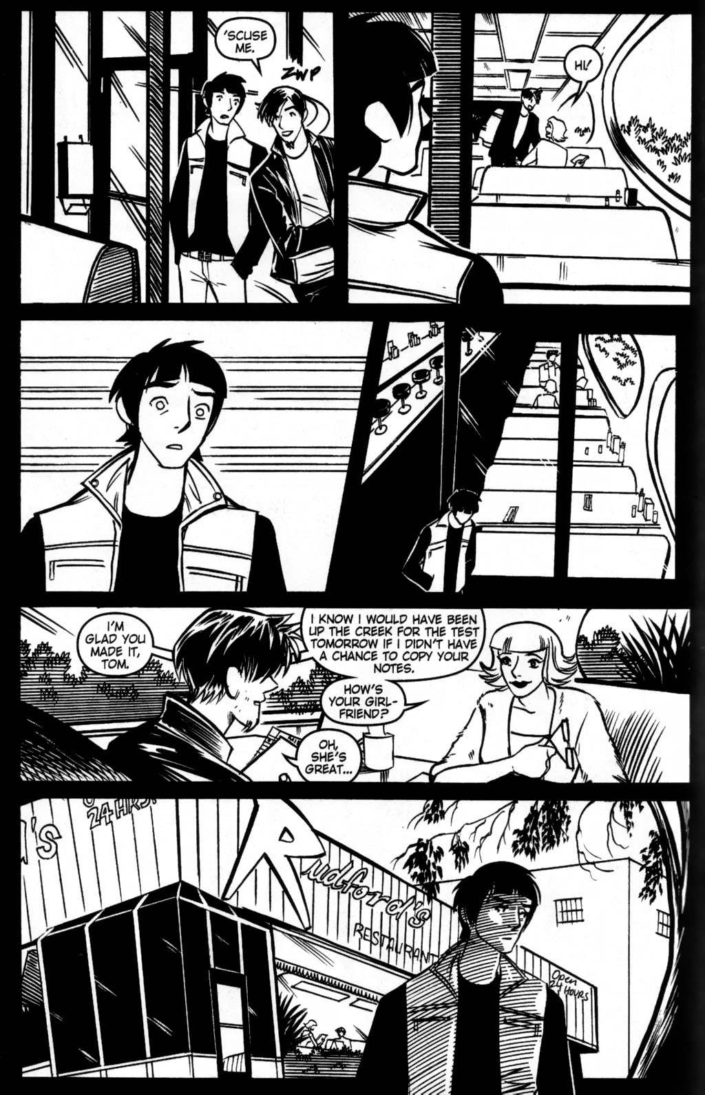 Read online Scooter Girl comic -  Issue #5 - 14