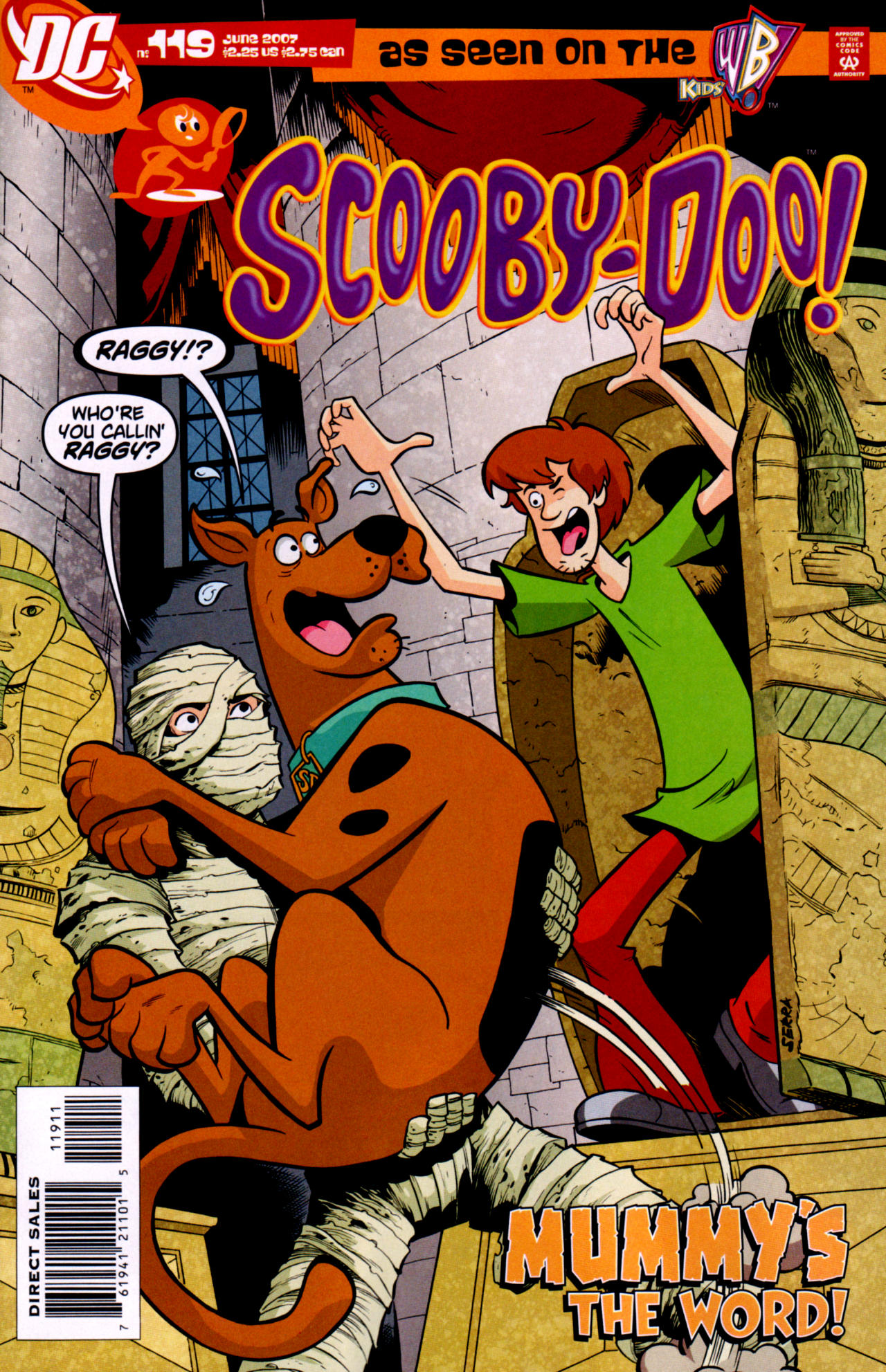 Read online Scooby-Doo (1997) comic -  Issue #119 - 1