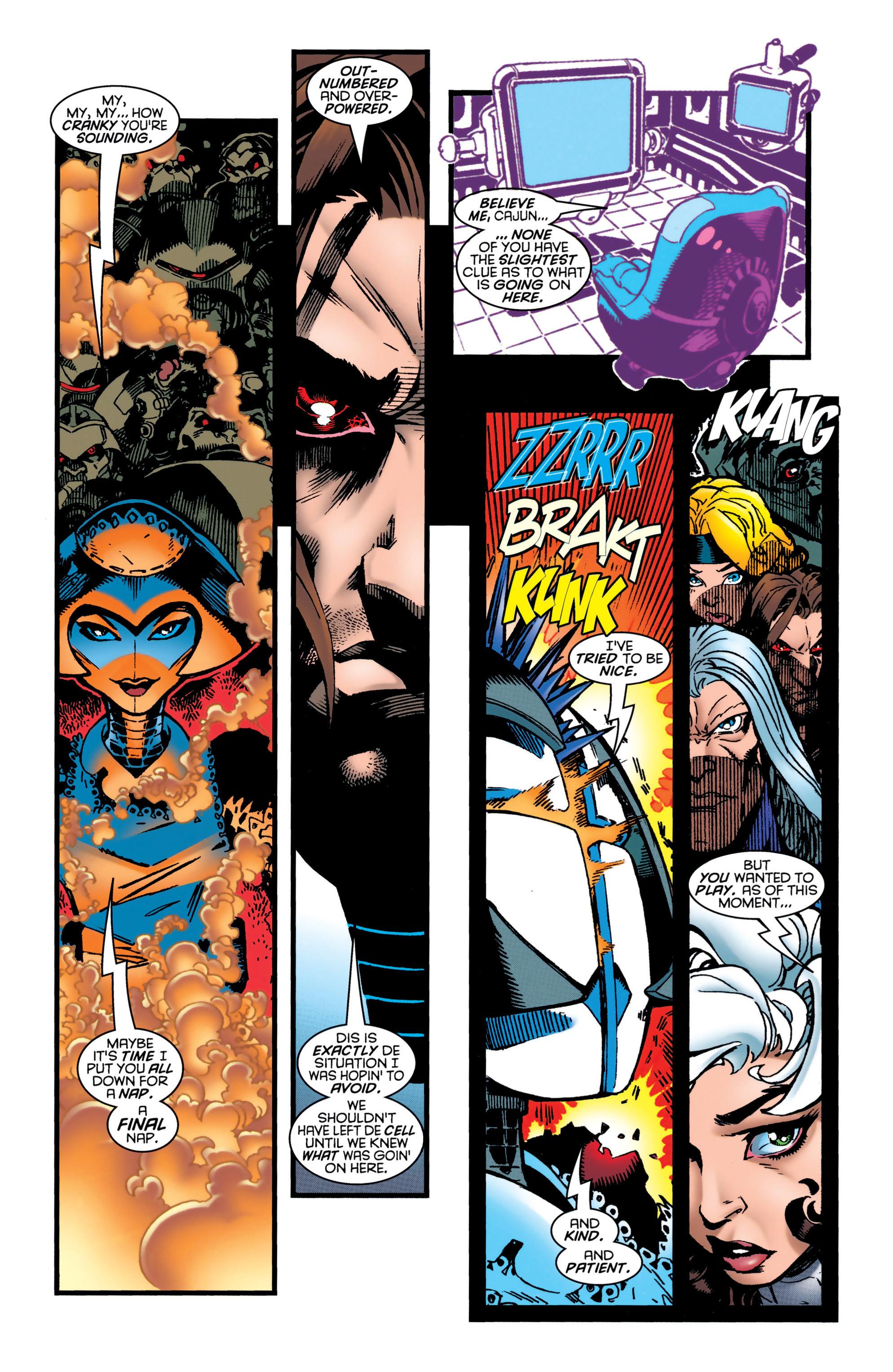 Read online Uncanny X-Men (1963) comic -  Issue #349 - 19