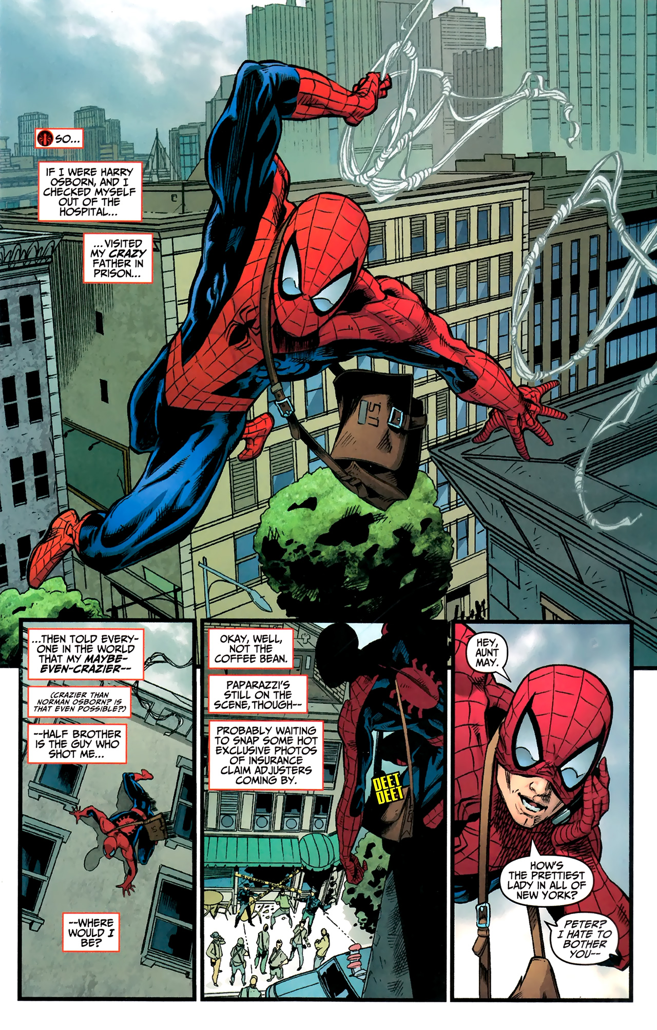 Read online Amazing Spider-Man Presents: American Son comic -  Issue #3 - 8