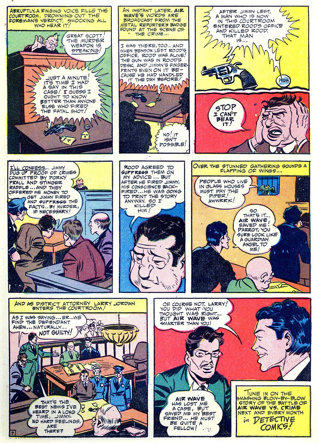 Read online Detective Comics (1937) comic -  Issue #68 - 56