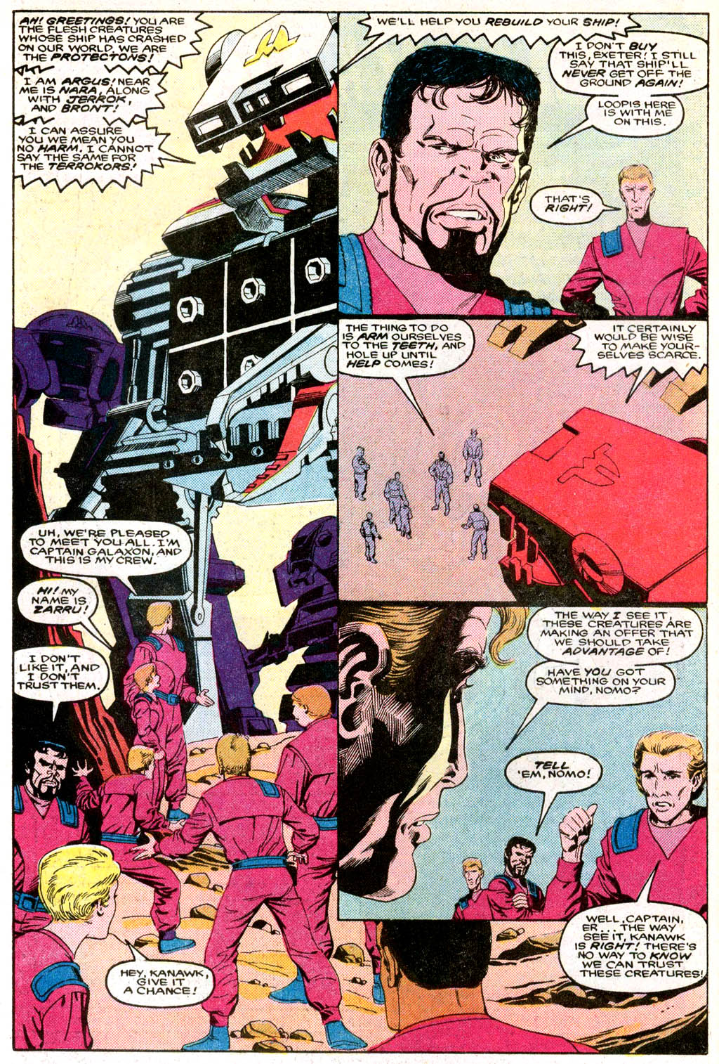 Read online Robotix comic -  Issue # Full - 8