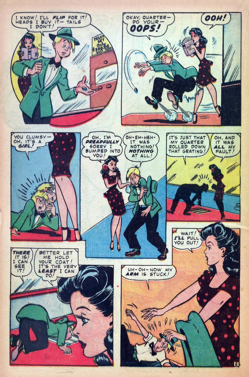 Read online Millie the Model comic -  Issue #10 - 30