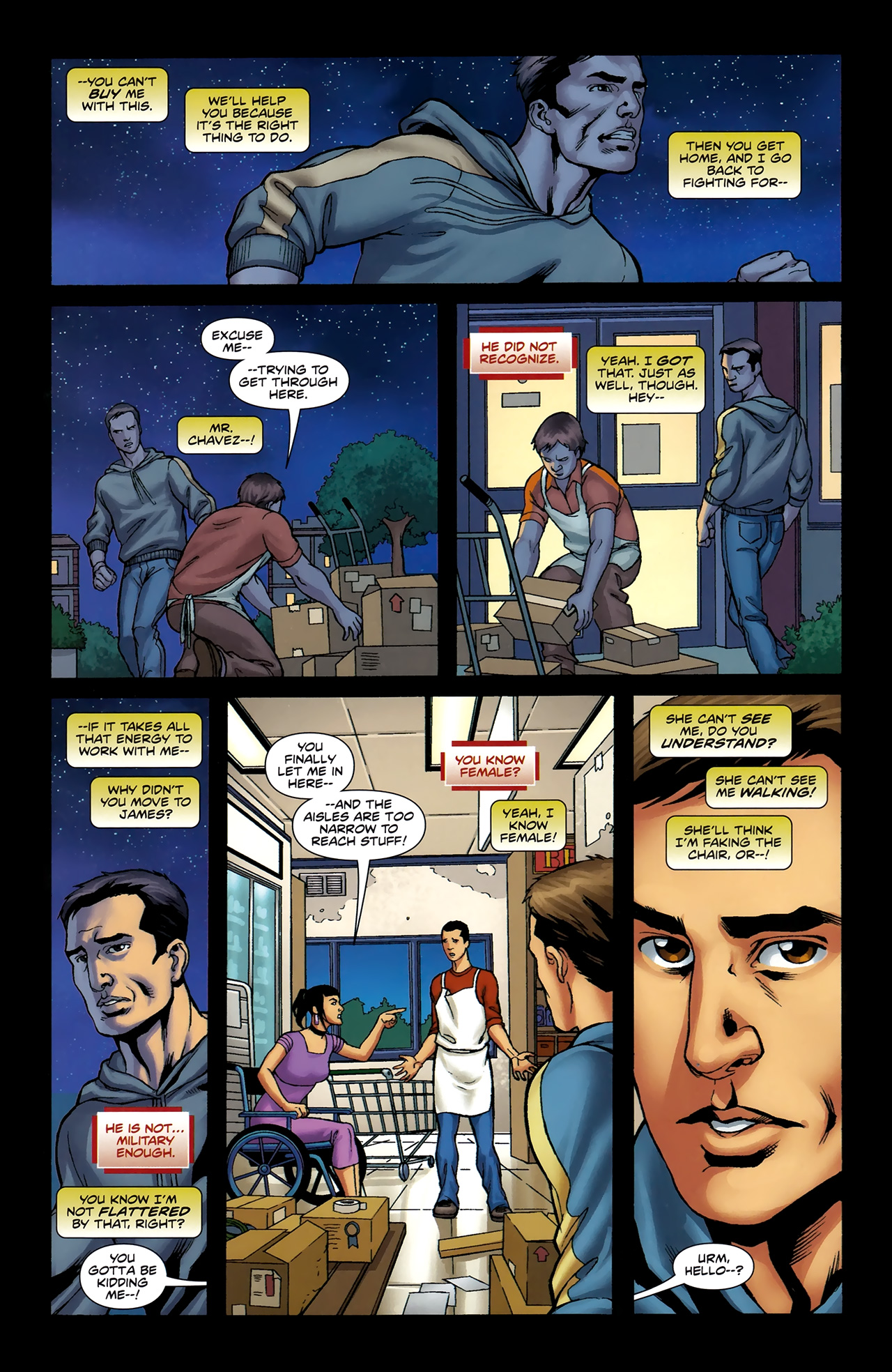 Read online Soldier Zero comic -  Issue #2 - 21