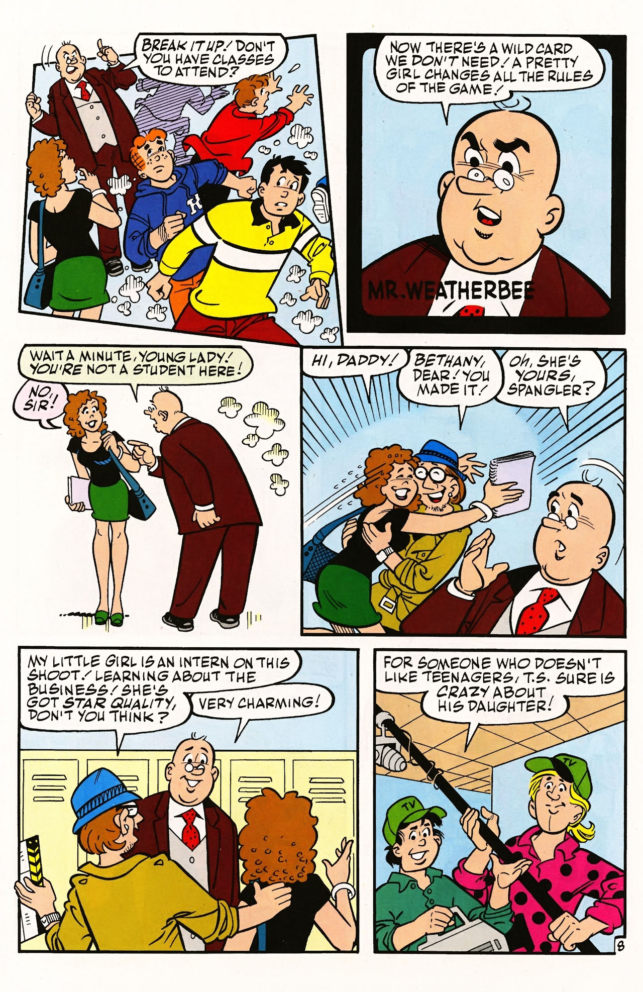 Read online Archie (1960) comic -  Issue #597 - 12