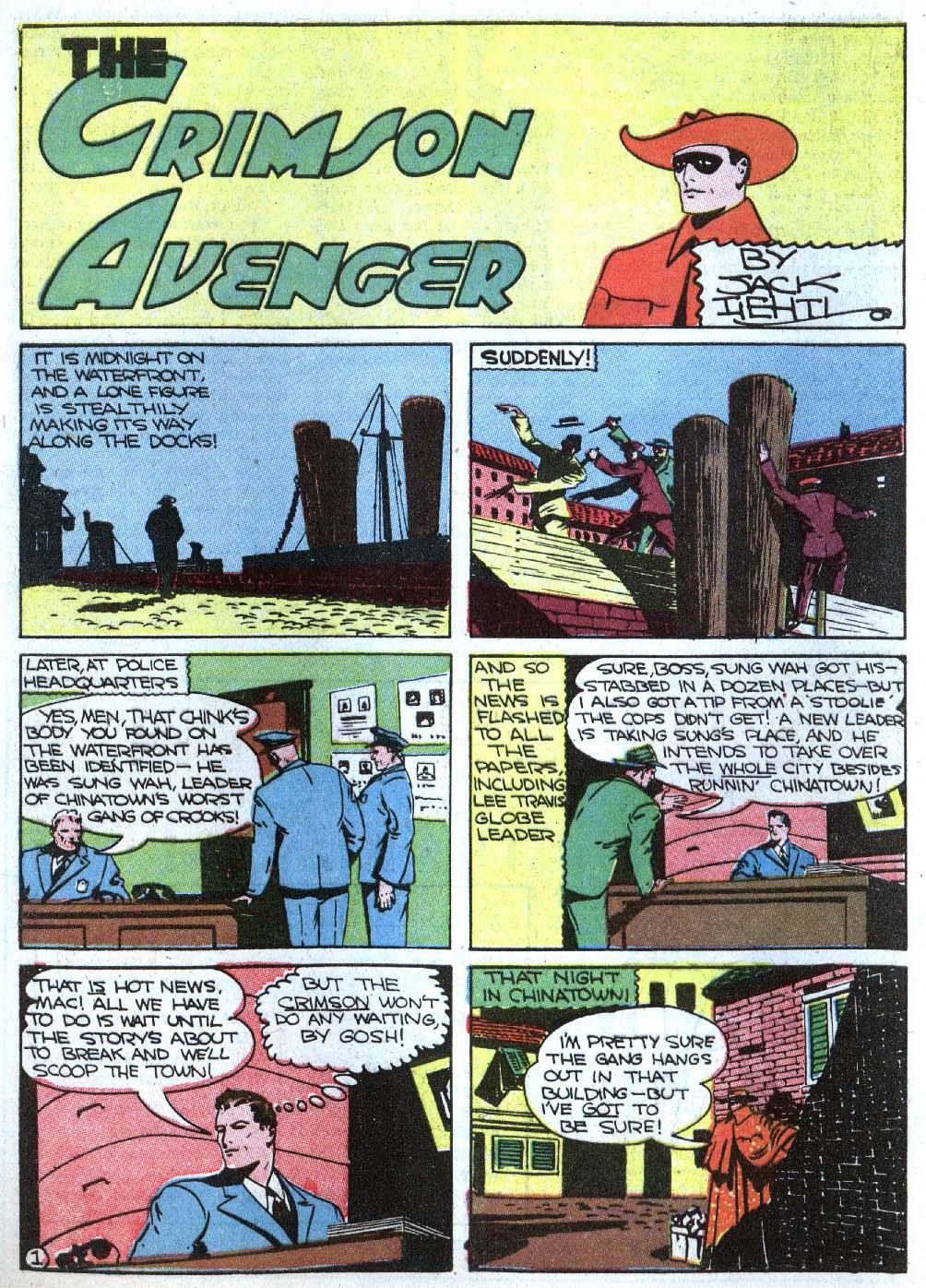 Read online Detective Comics (1937) comic -  Issue #43 - 32