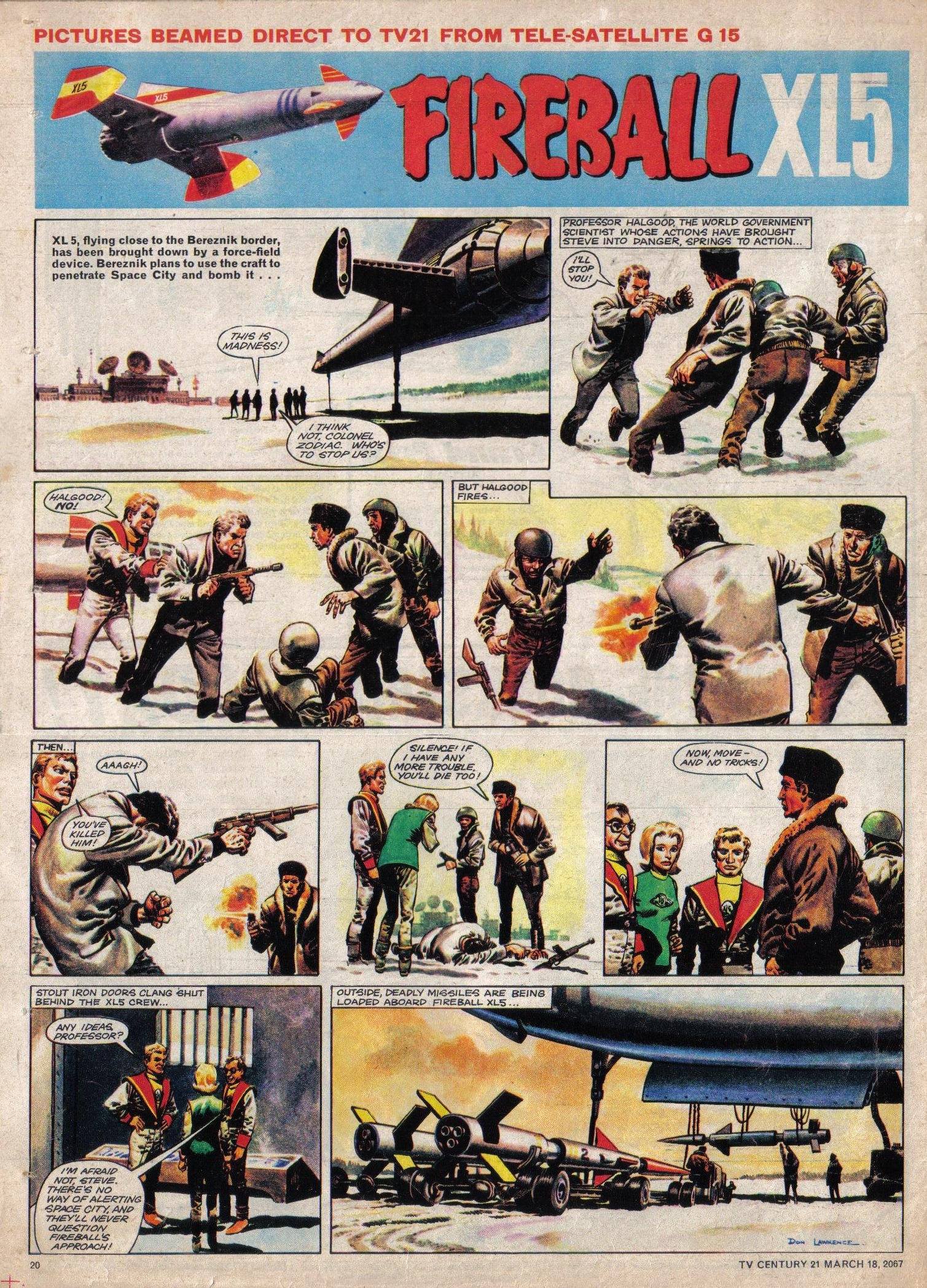 Read online TV Century 21 (TV 21) comic -  Issue #113 - 19