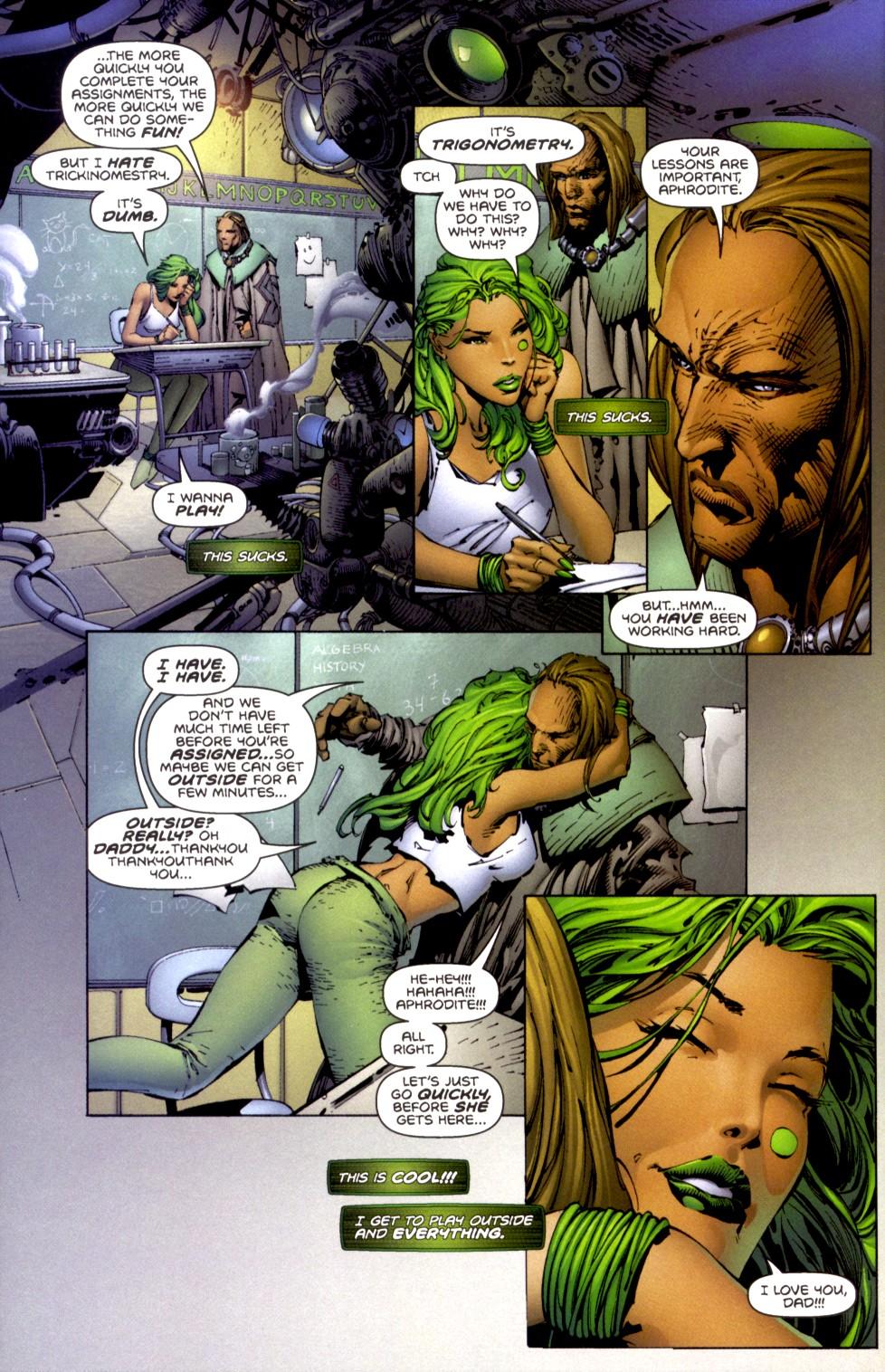 Read online Aphrodite IX (2000) comic -  Issue #2 - 10