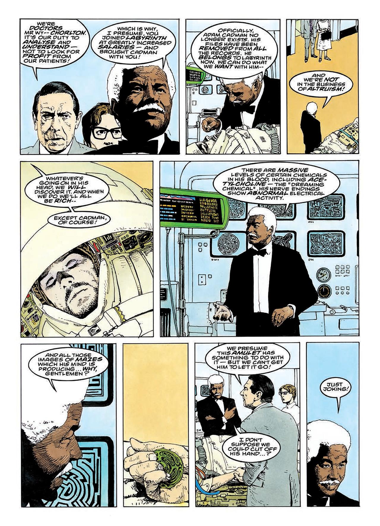 Read online Mazeworld comic -  Issue # TPB - 128