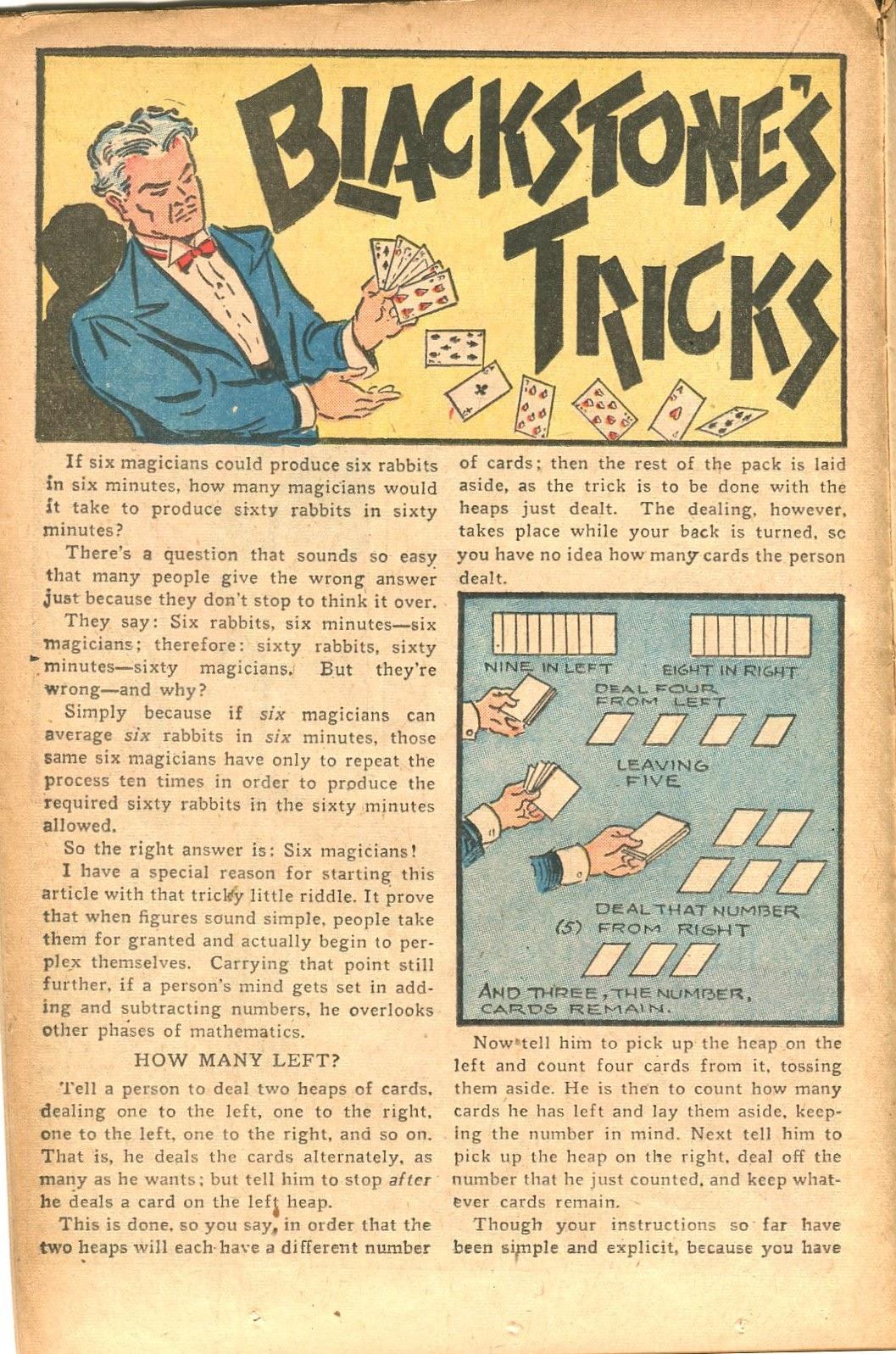 Read online Super-Magician Comics comic -  Issue #35 - 22