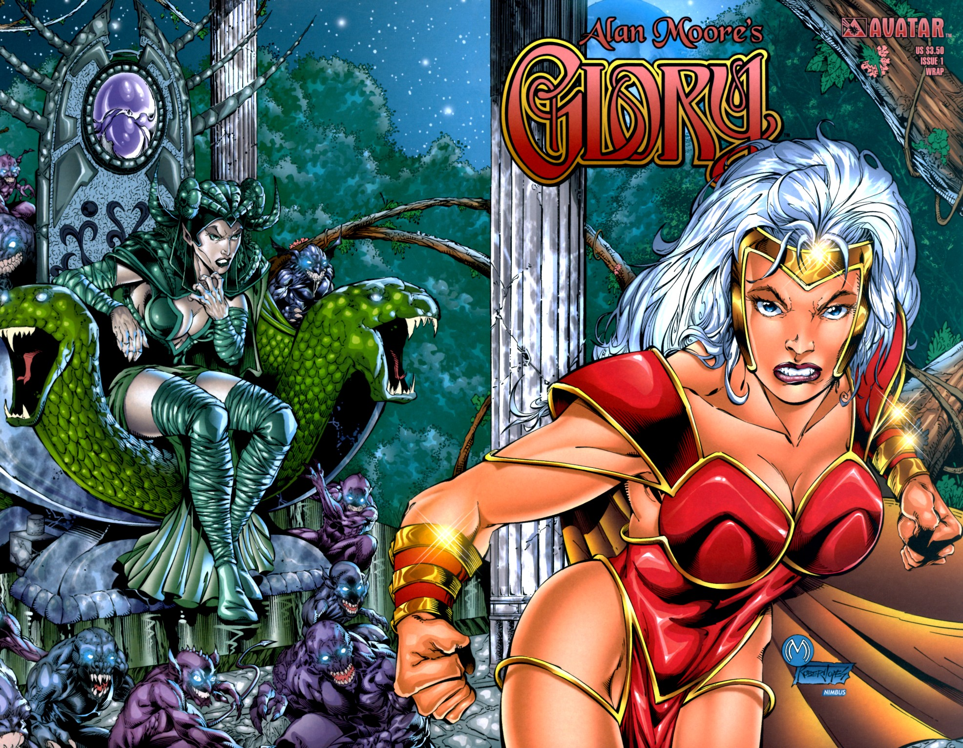 Read online Alan Moore's Glory comic -  Issue #1 - 2