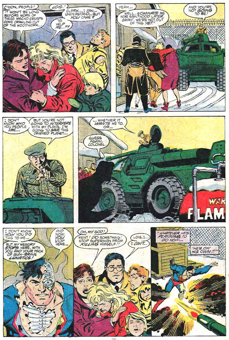 Read online Adventures of Superman (1987) comic -  Issue #439 - 21