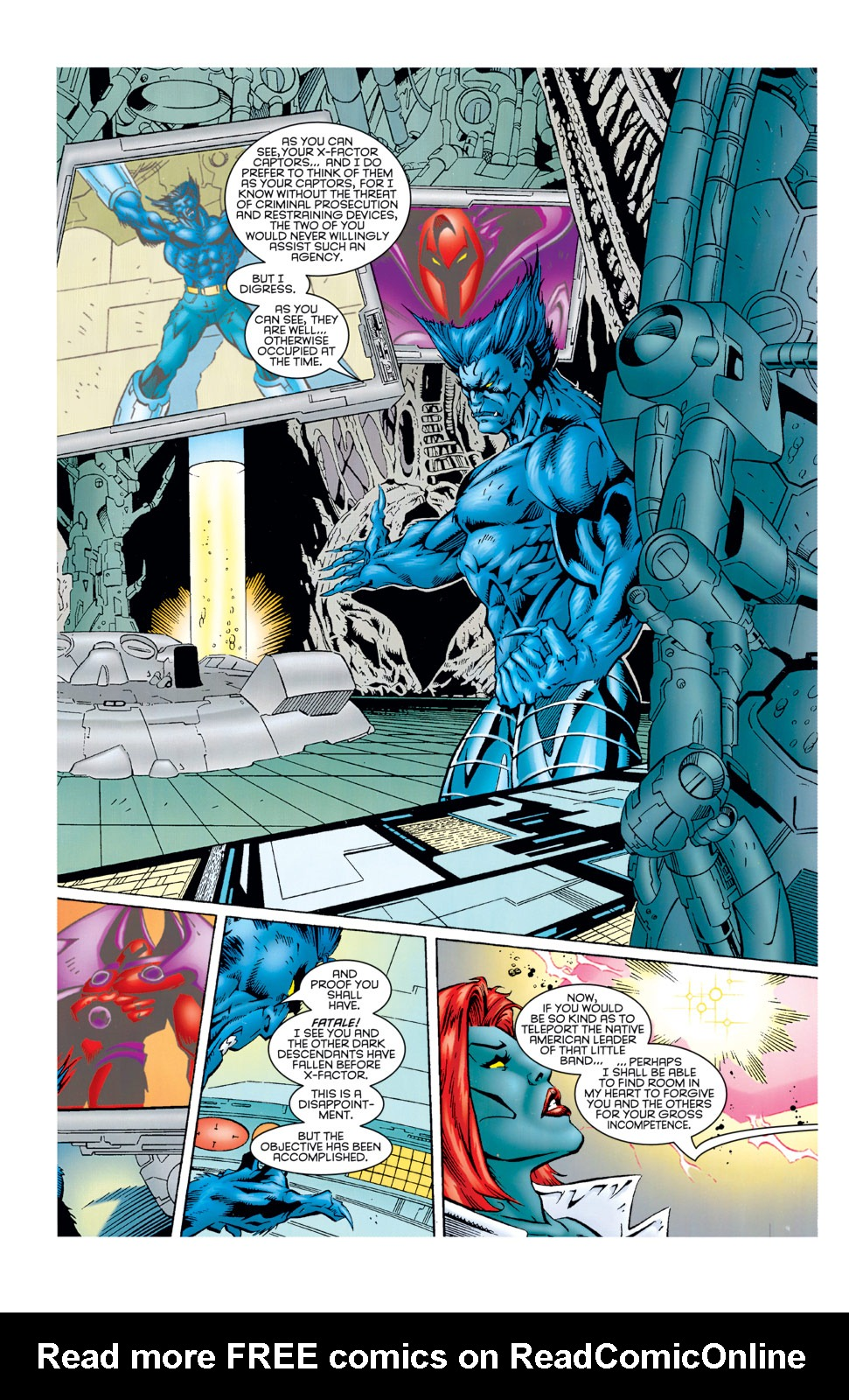 Read online X-Factor (1986) comic -  Issue #125 - 30