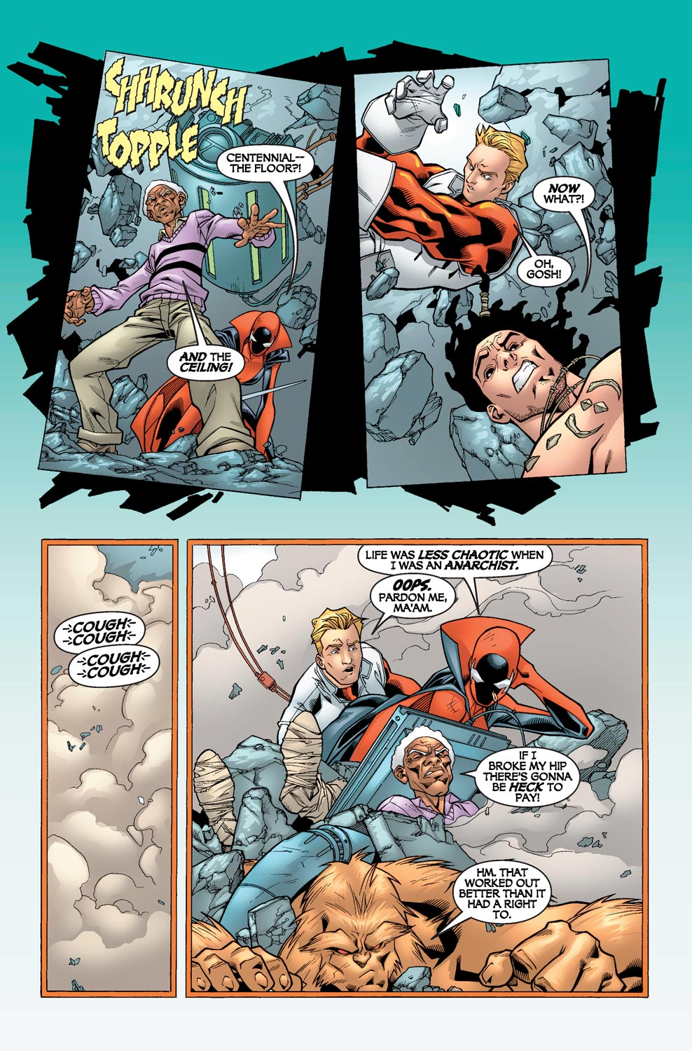Alpha Flight (2004) issue 5 - Page 5