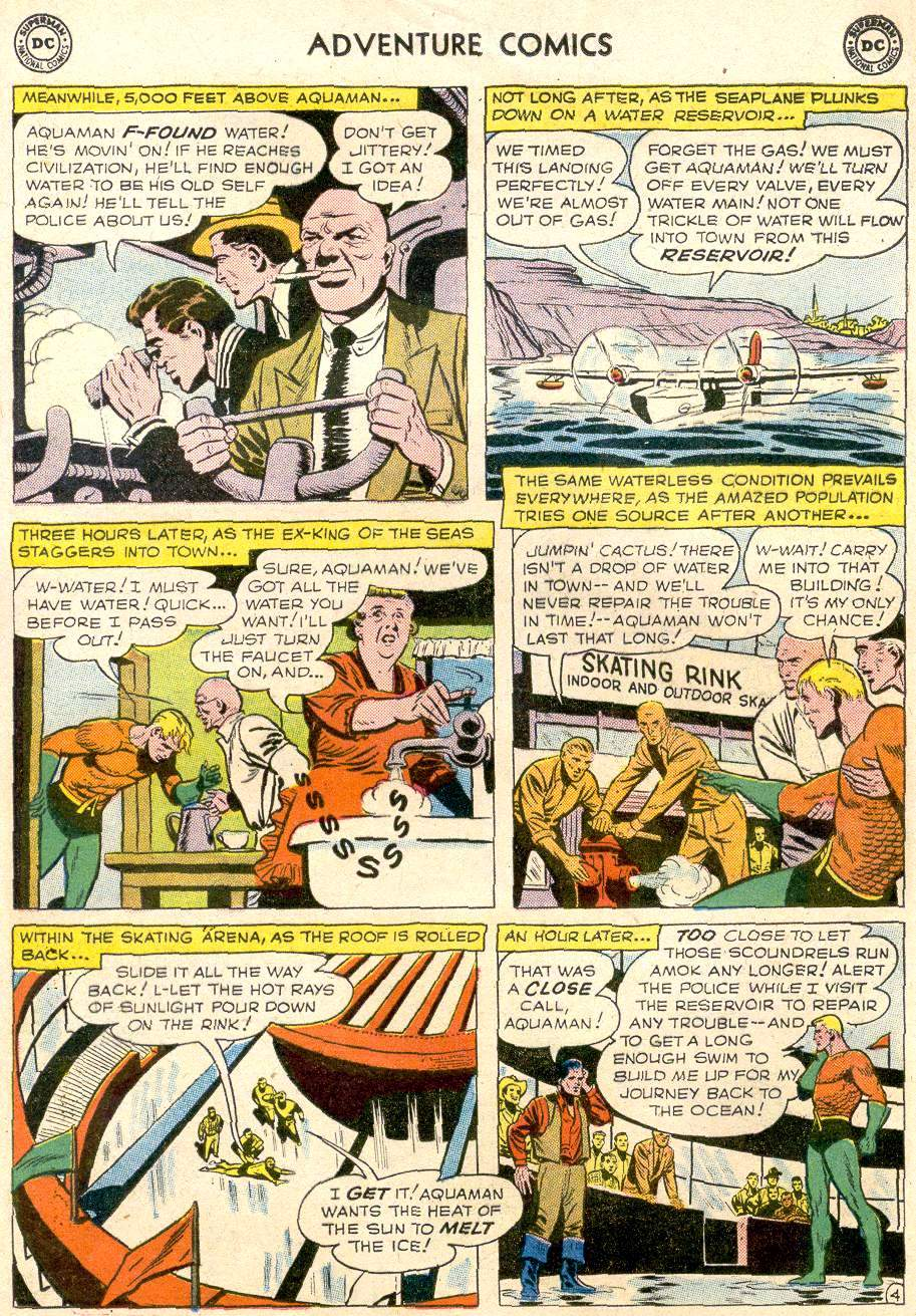 Read online Adventure Comics (1938) comic -  Issue #256 - 21