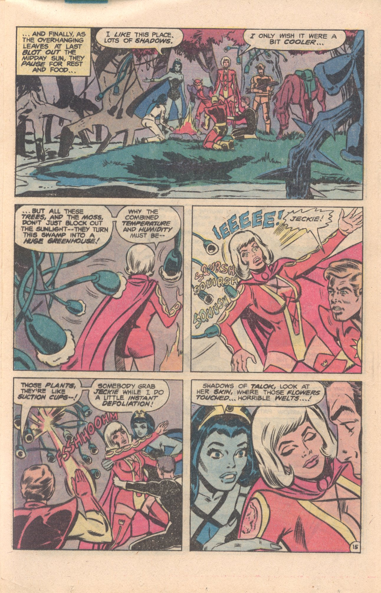 Legion of Super-Heroes (1980) 276 Page 15