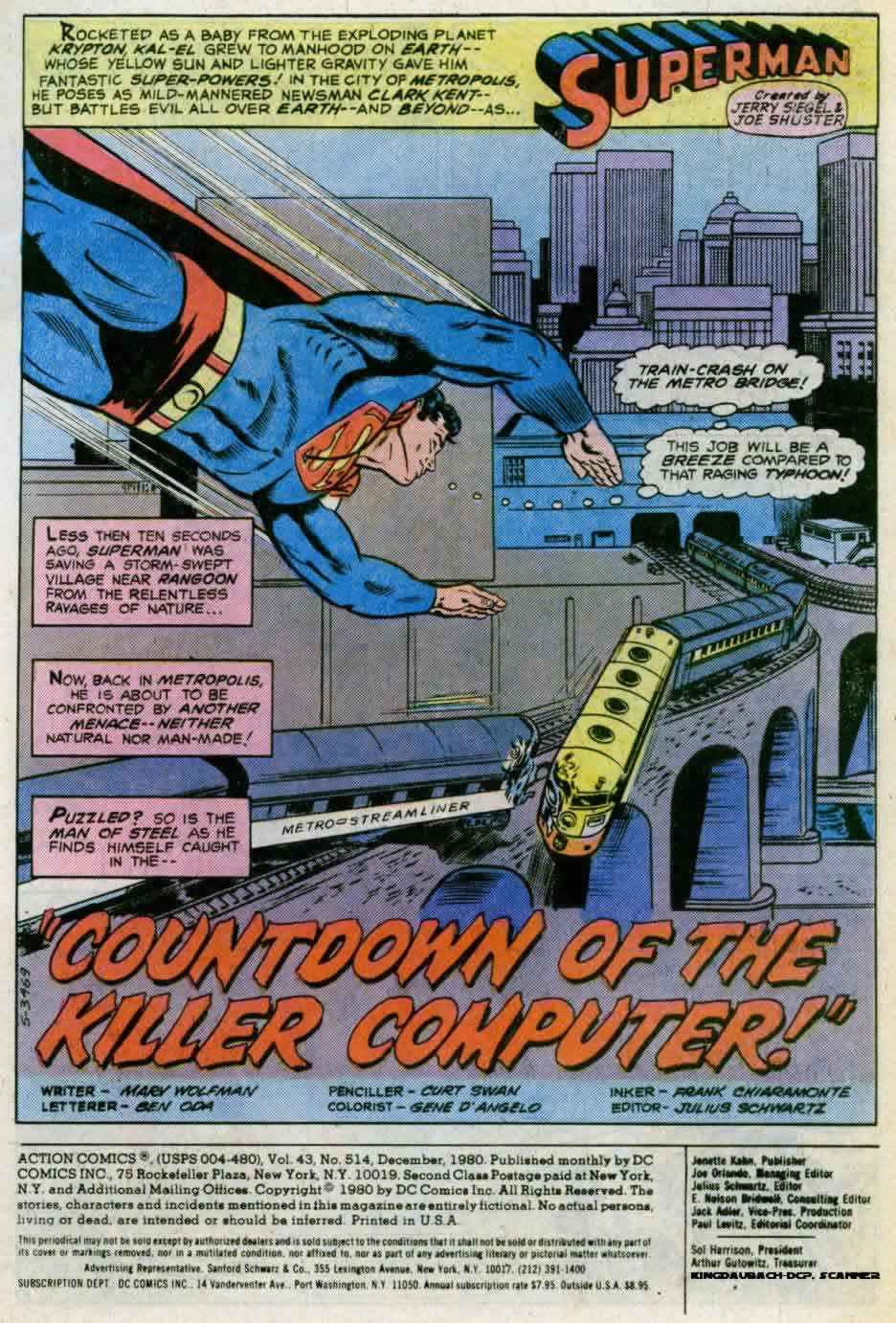 Read online Action Comics (1938) comic -  Issue #514 - 2