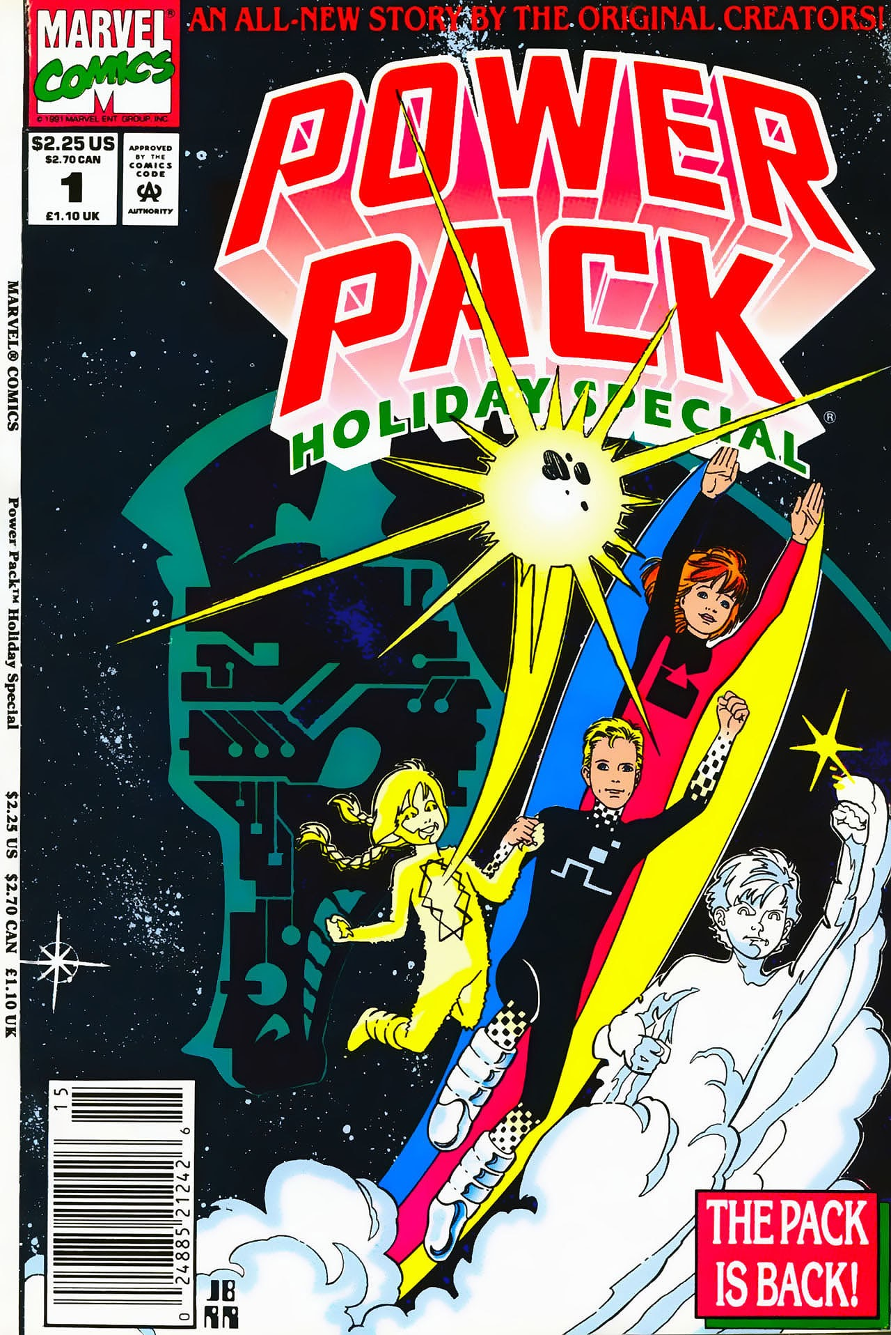Power Pack Holiday Special issue Full - Page 1