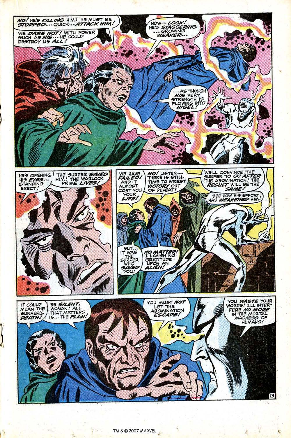 Read online Silver Surfer (1968) comic -  Issue #12 - 19