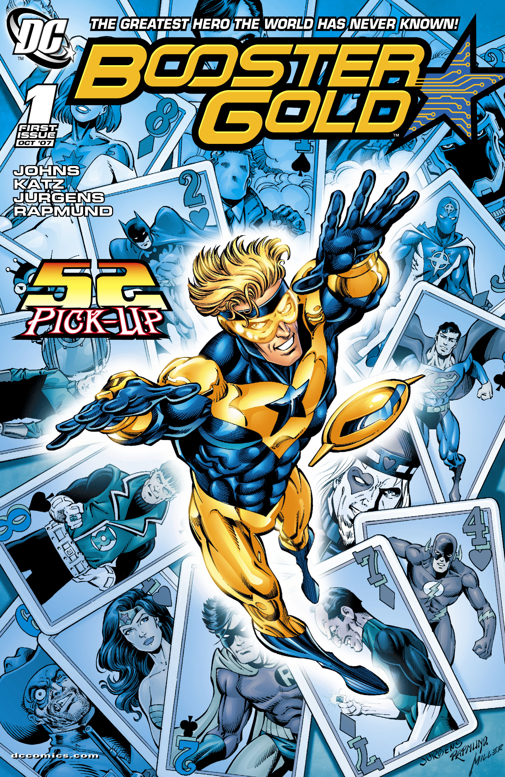 Booster Gold 2007 Issue 1