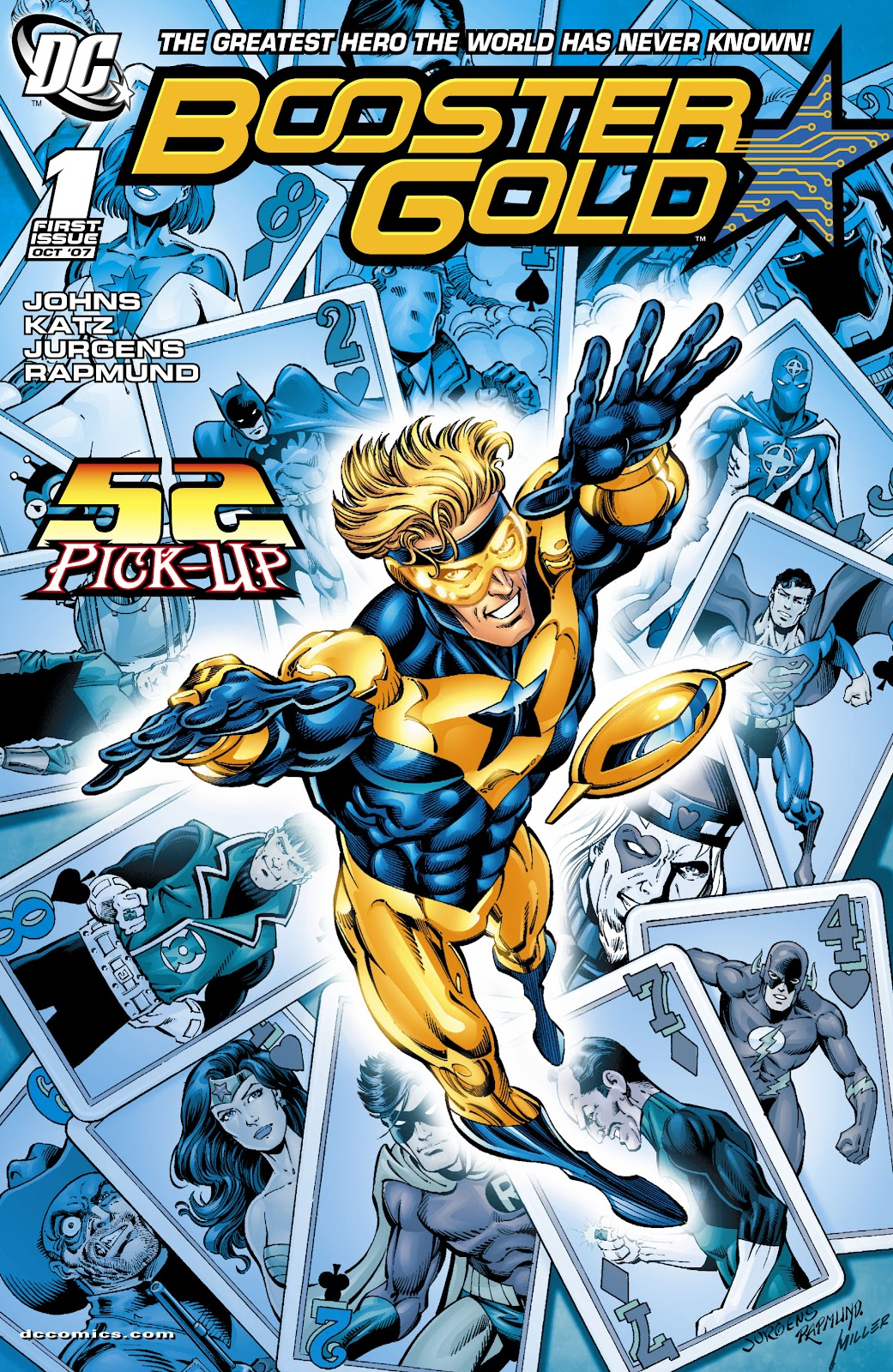 Booster Gold (2007) issue 1 - Page 1