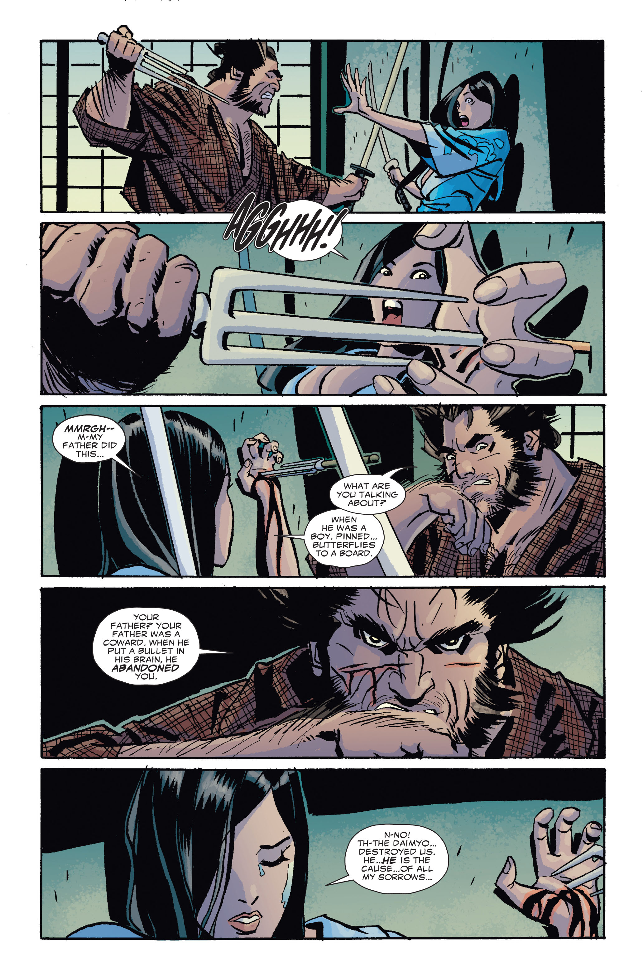 Read online 5 Ronin (2011) comic -  Issue #4 - 20
