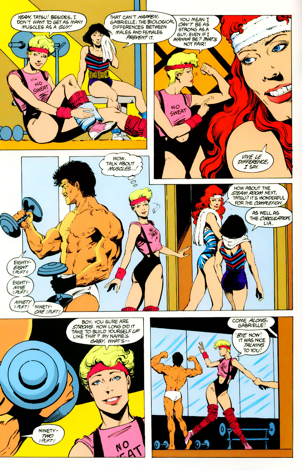 Read online Adventures of the Outsiders comic -  Issue #46 - 5