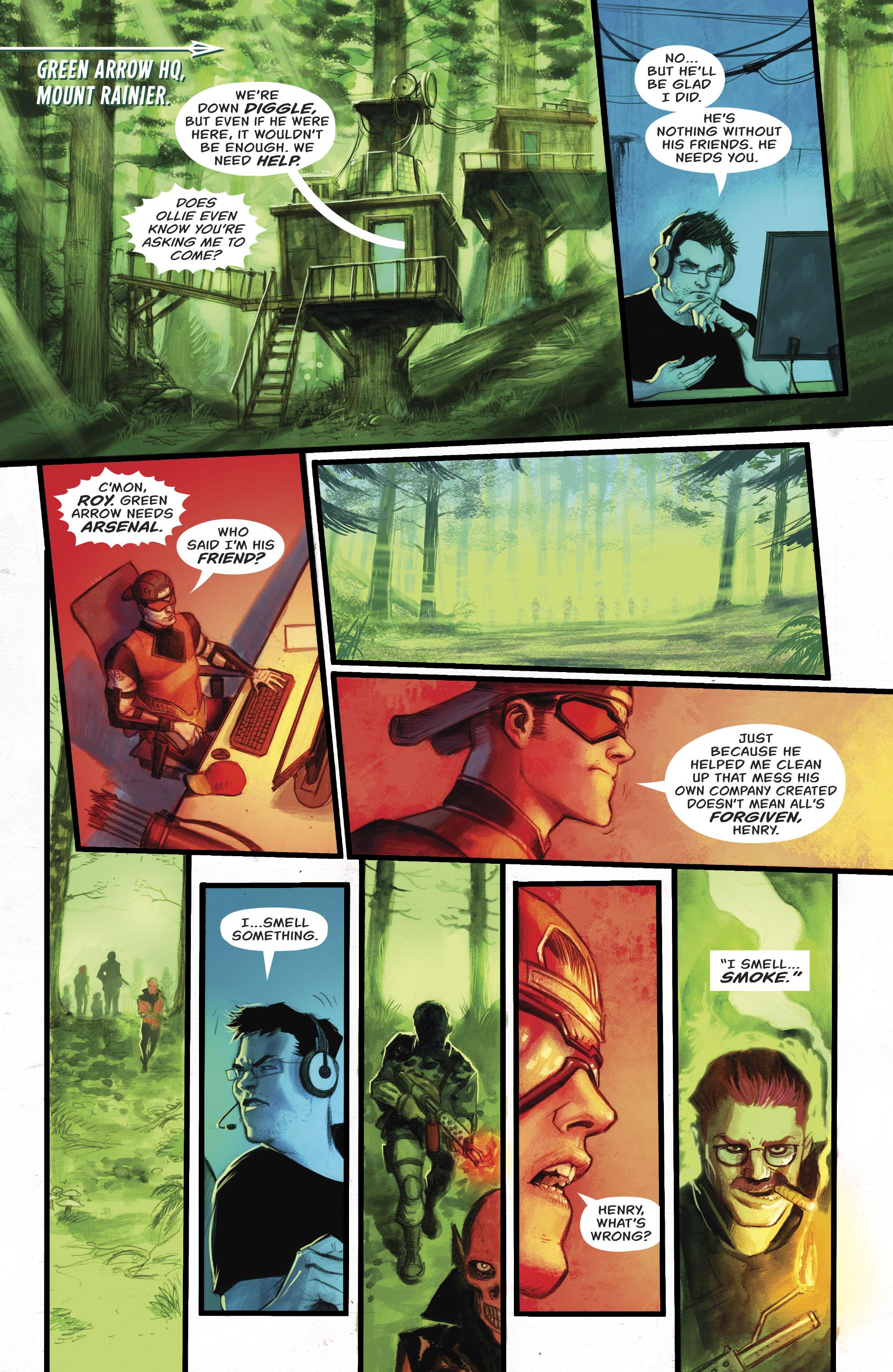 Read online Green Arrow (2016) comic -  Issue #22 - 22