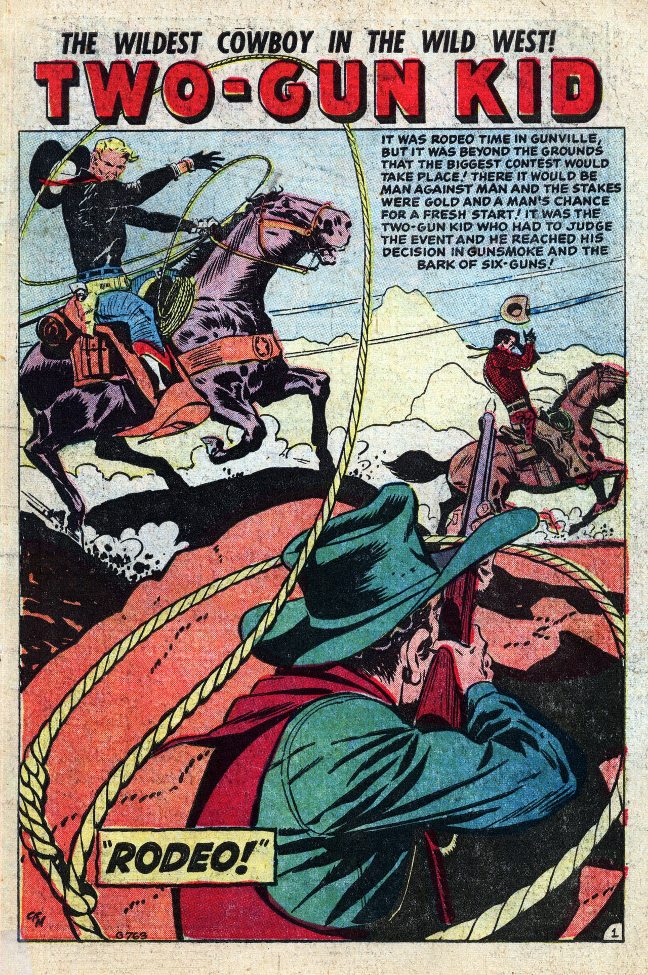 Read online Two-Gun Kid comic -  Issue #27 - 3