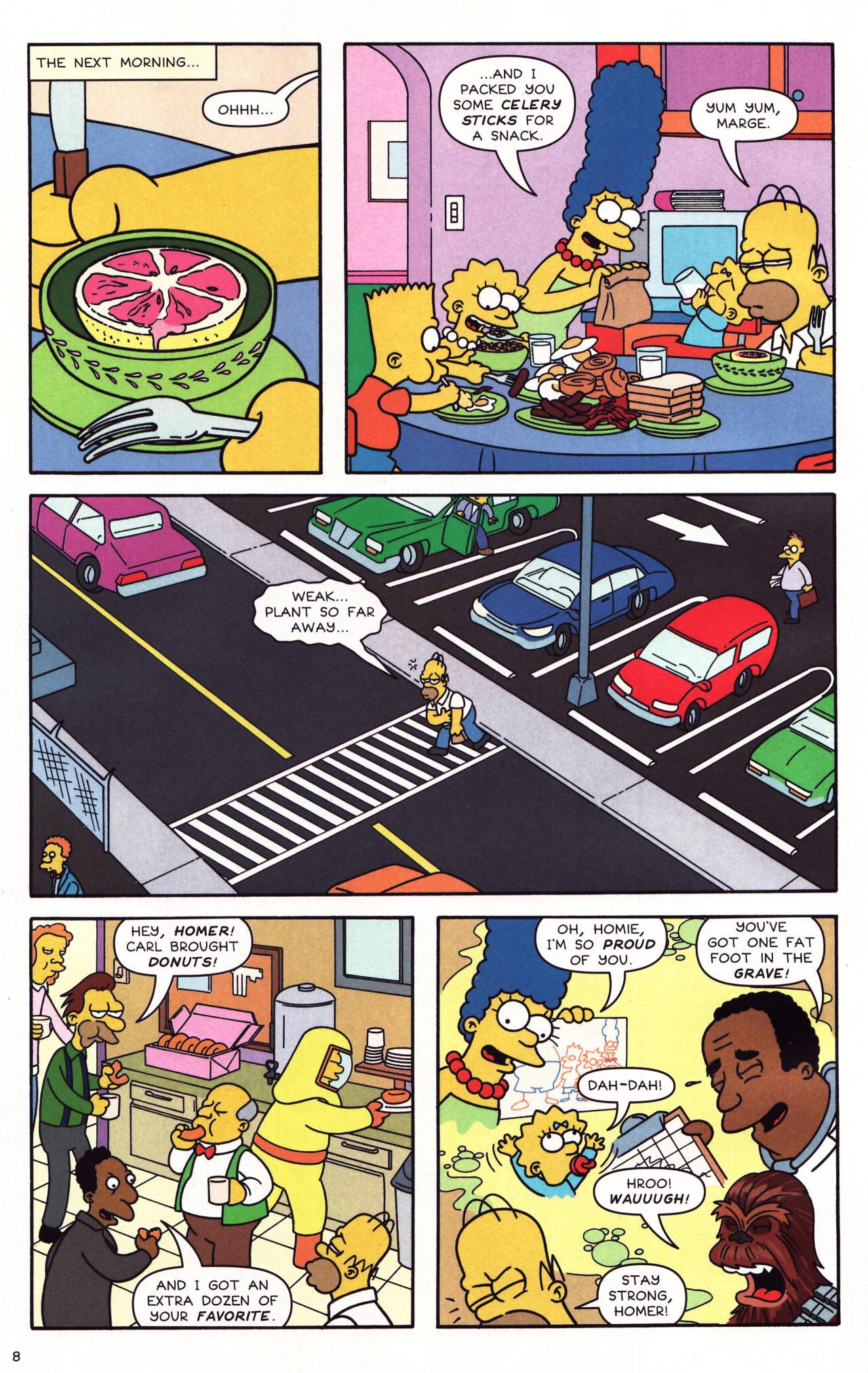 Read online Simpsons Comics comic -  Issue #137 - 7