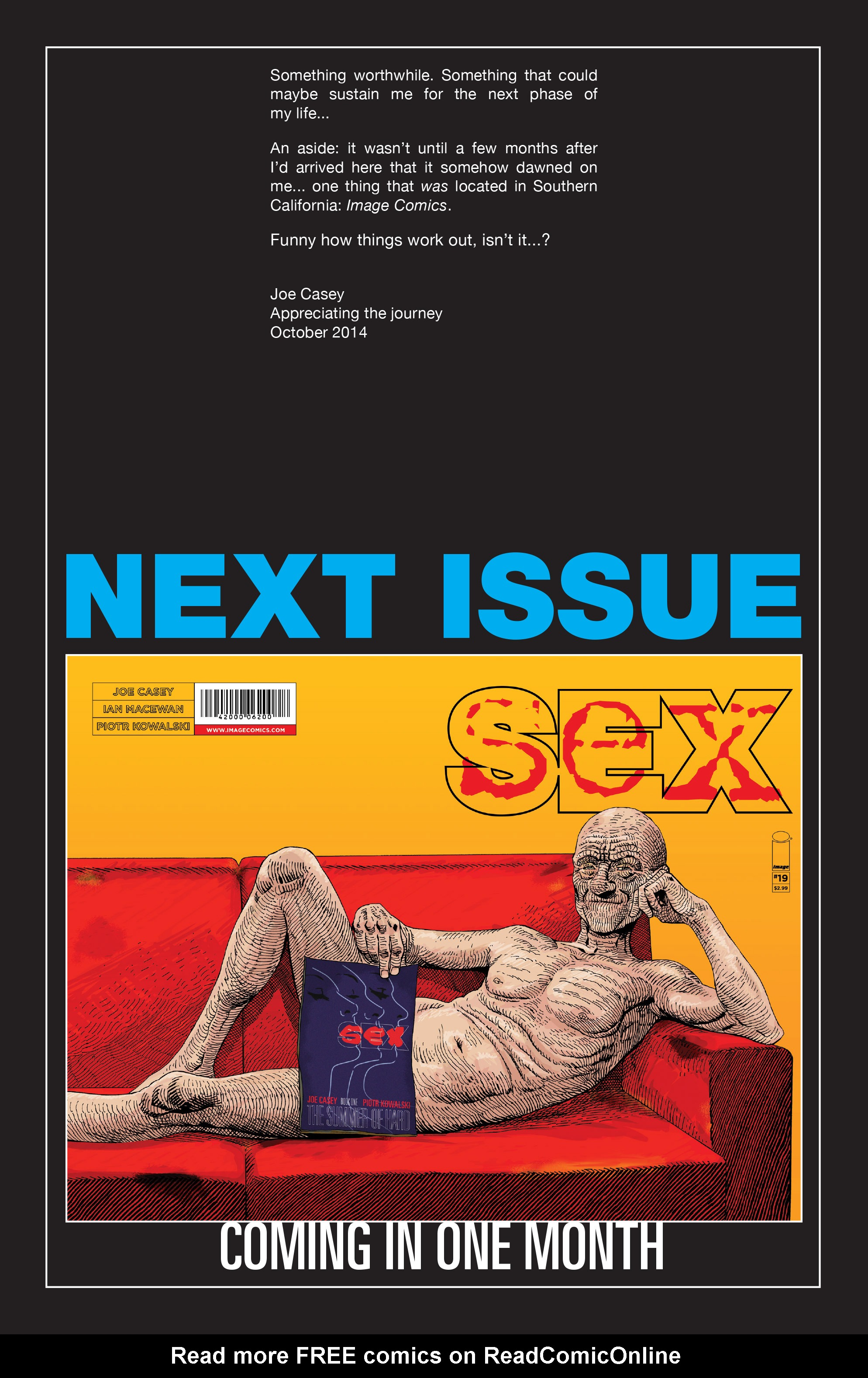 Read online Sex comic -  Issue #18 - 26