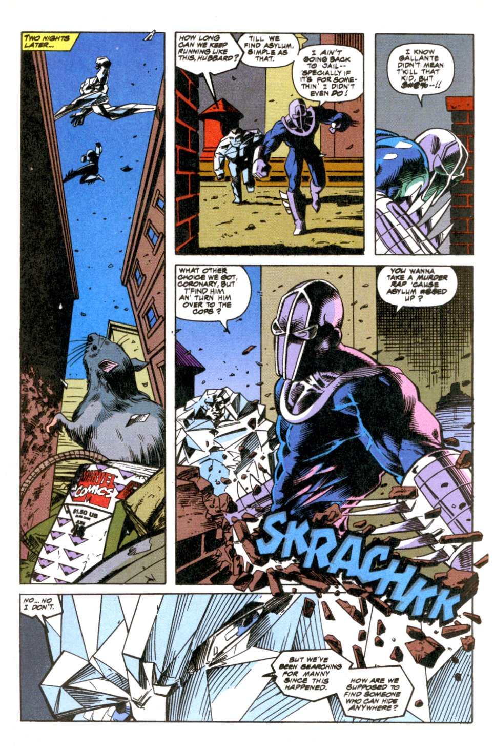The New Warriors Issue #52 #56 - English 13