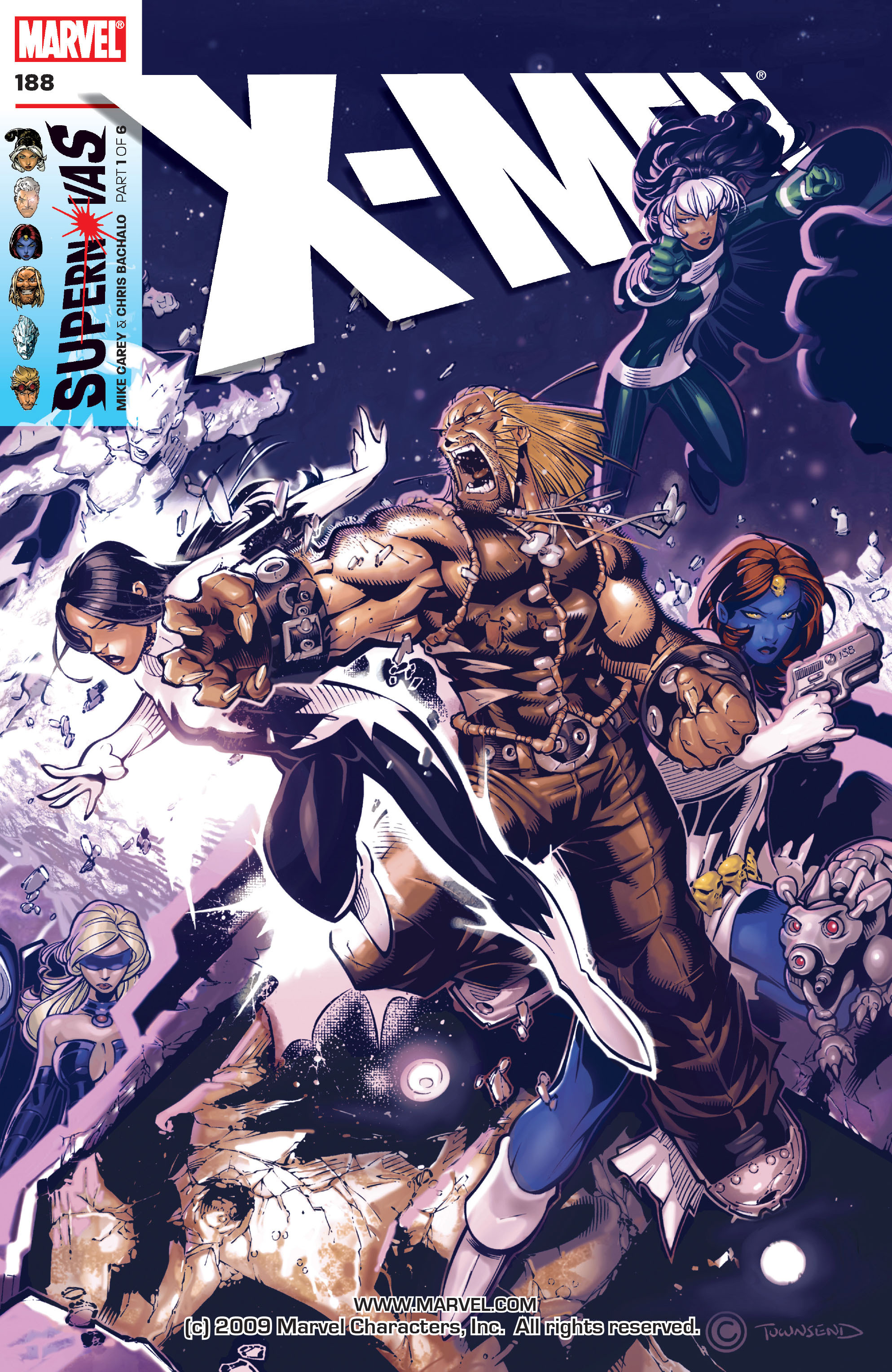 X-Men (1991) 188 Page 0