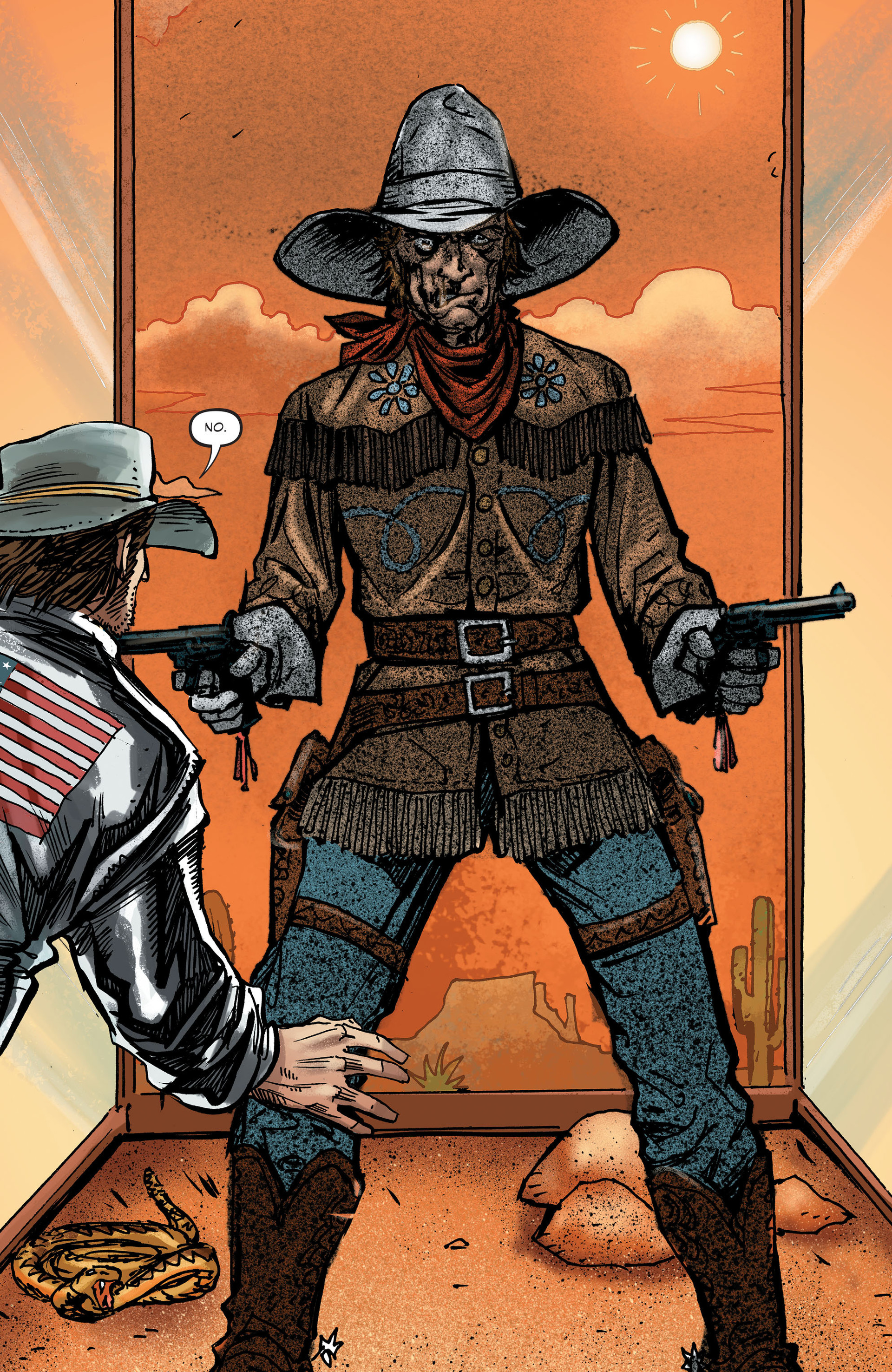 Read online All-Star Western (2011) comic -  Issue #27 - 17