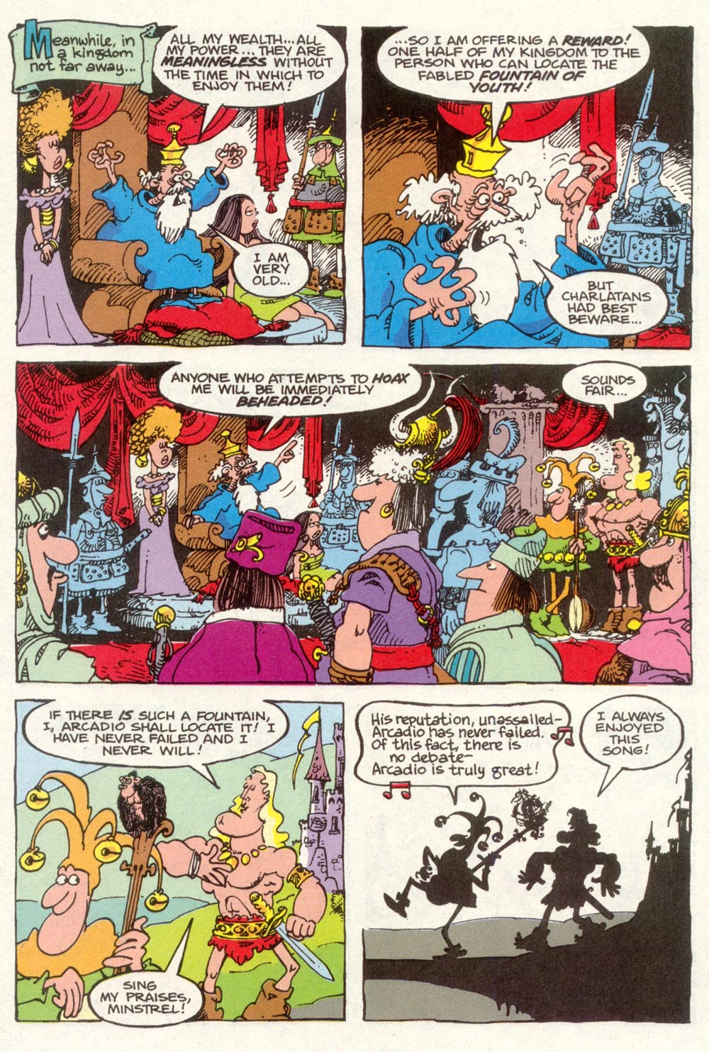 Read online Sergio Aragonés Groo the Wanderer comic -  Issue #92 - 6