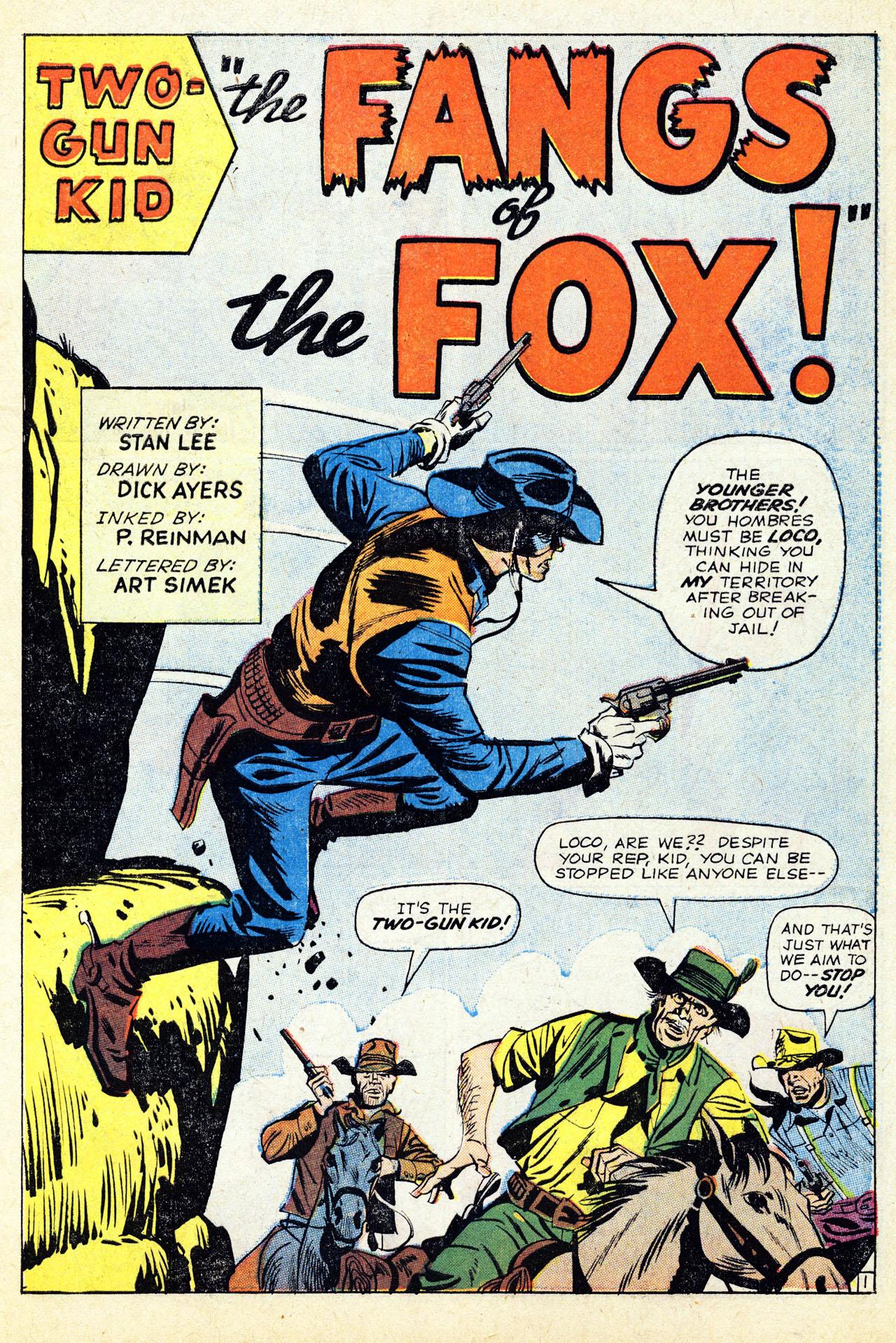 Read online Two-Gun Kid comic -  Issue #67 - 3
