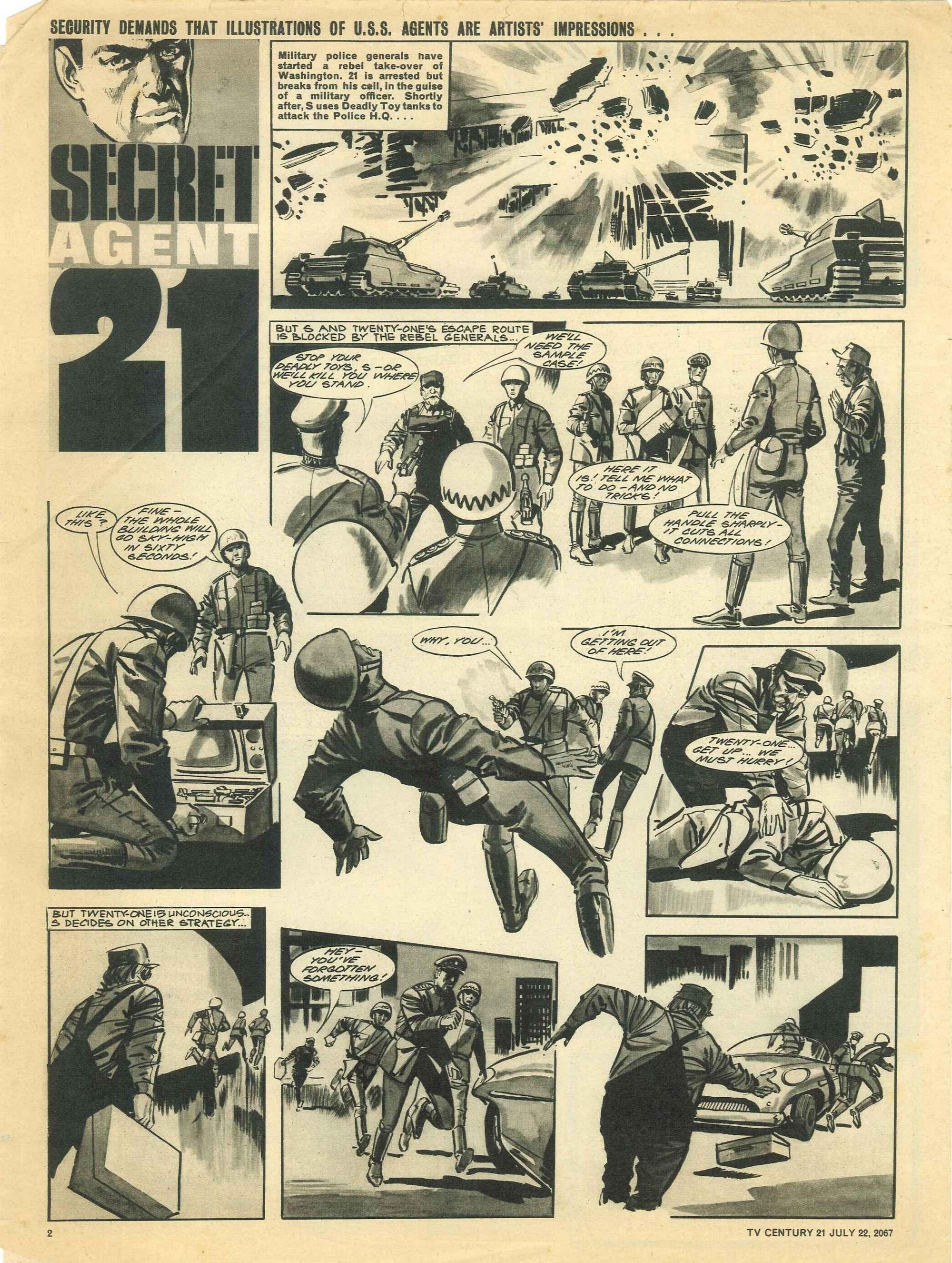 Read online TV Century 21 (TV 21) comic -  Issue #131 - 2