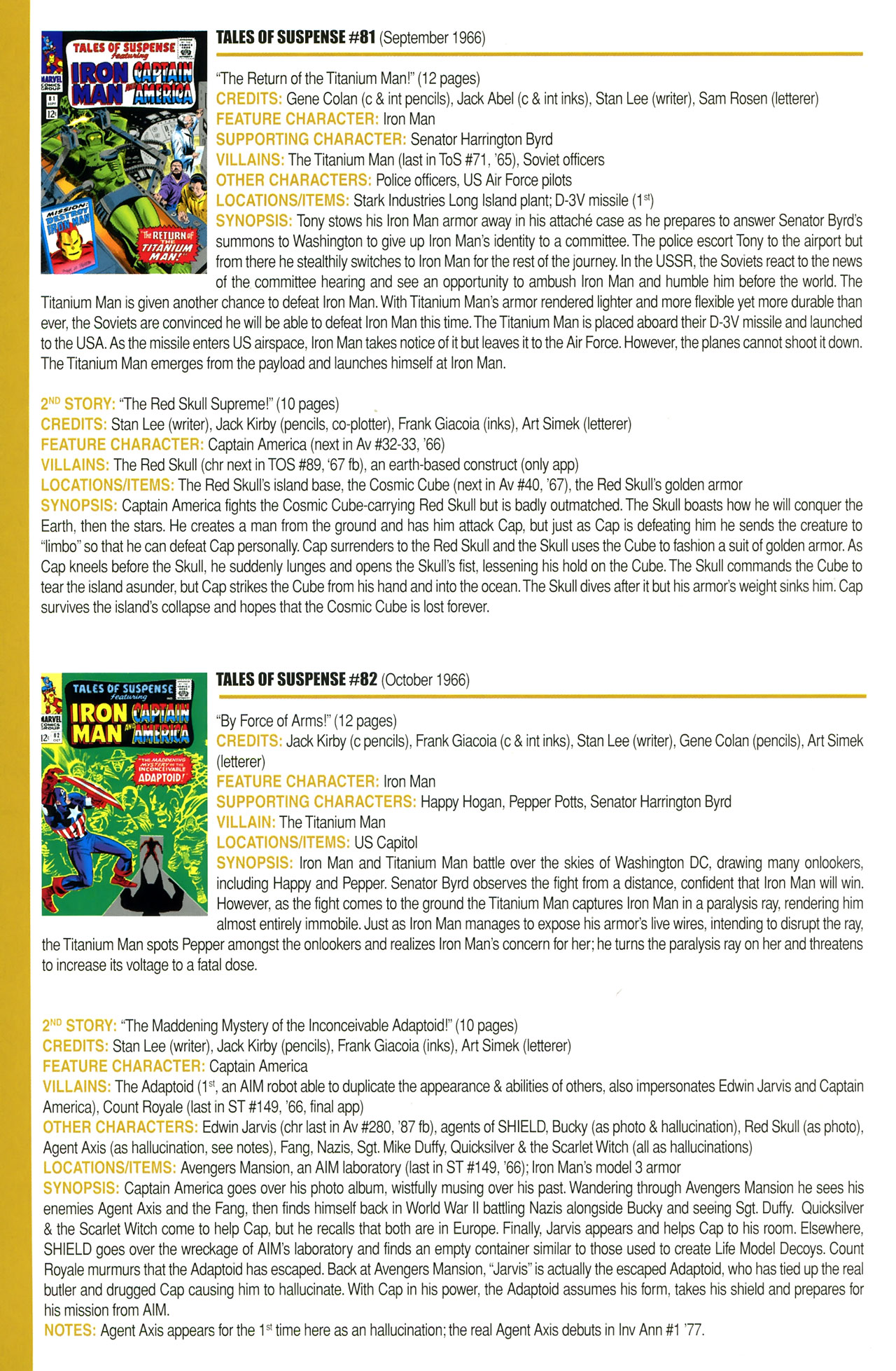 Read online Official Index to the Marvel Universe comic -  Issue #2 - 28