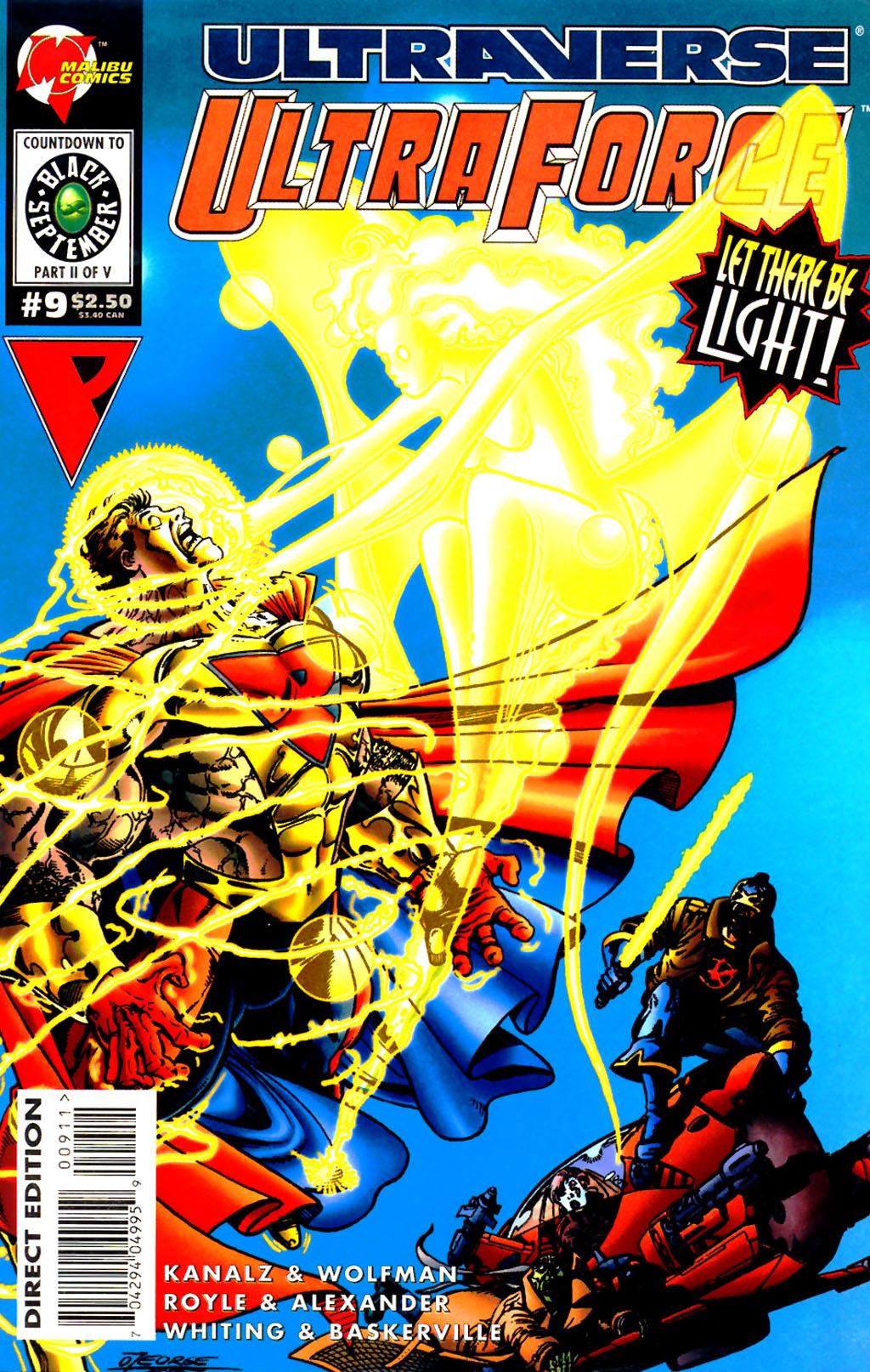 Read online UltraForce (1994) comic -  Issue #9 - 1