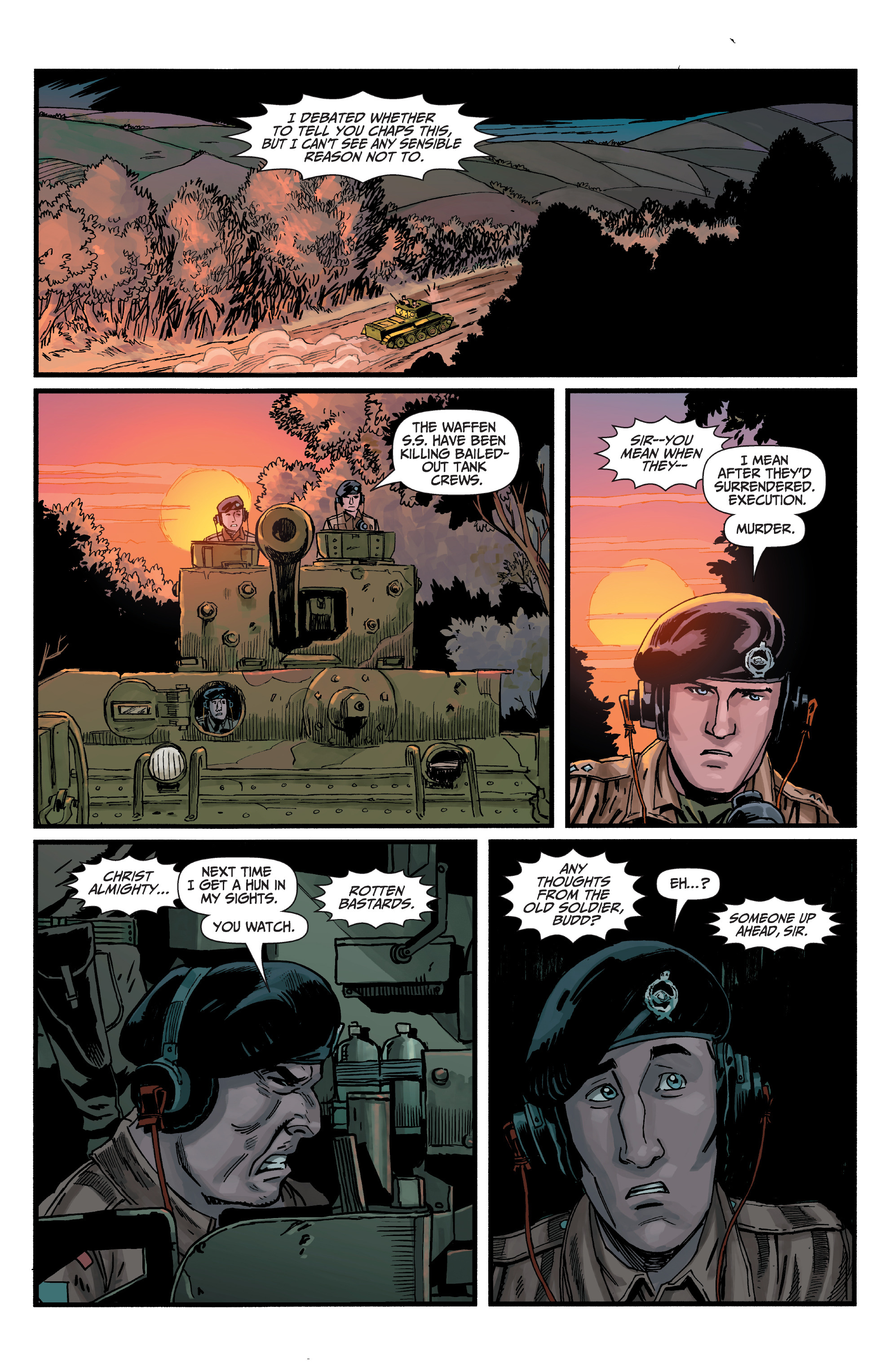 Read online World of Tanks comic -  Issue #5 - 9