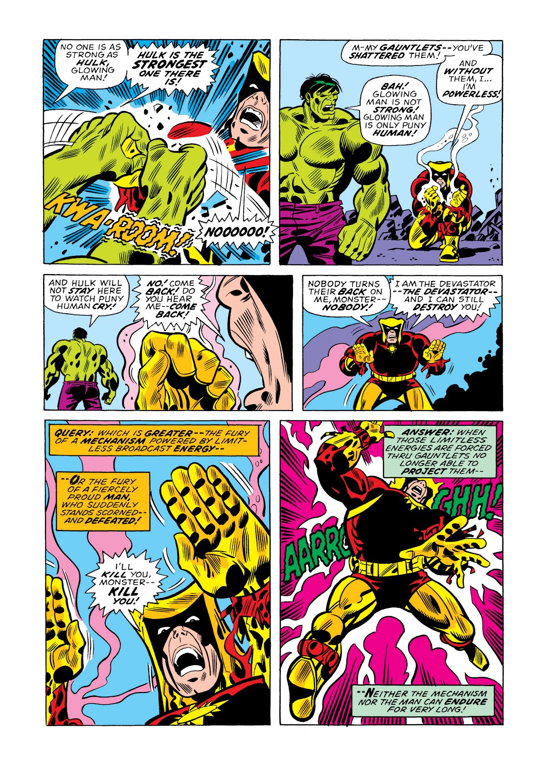 Read online Marvel Masterworks: The Incredible Hulk comic -  Issue # TPB 11 (Part 1) - 61