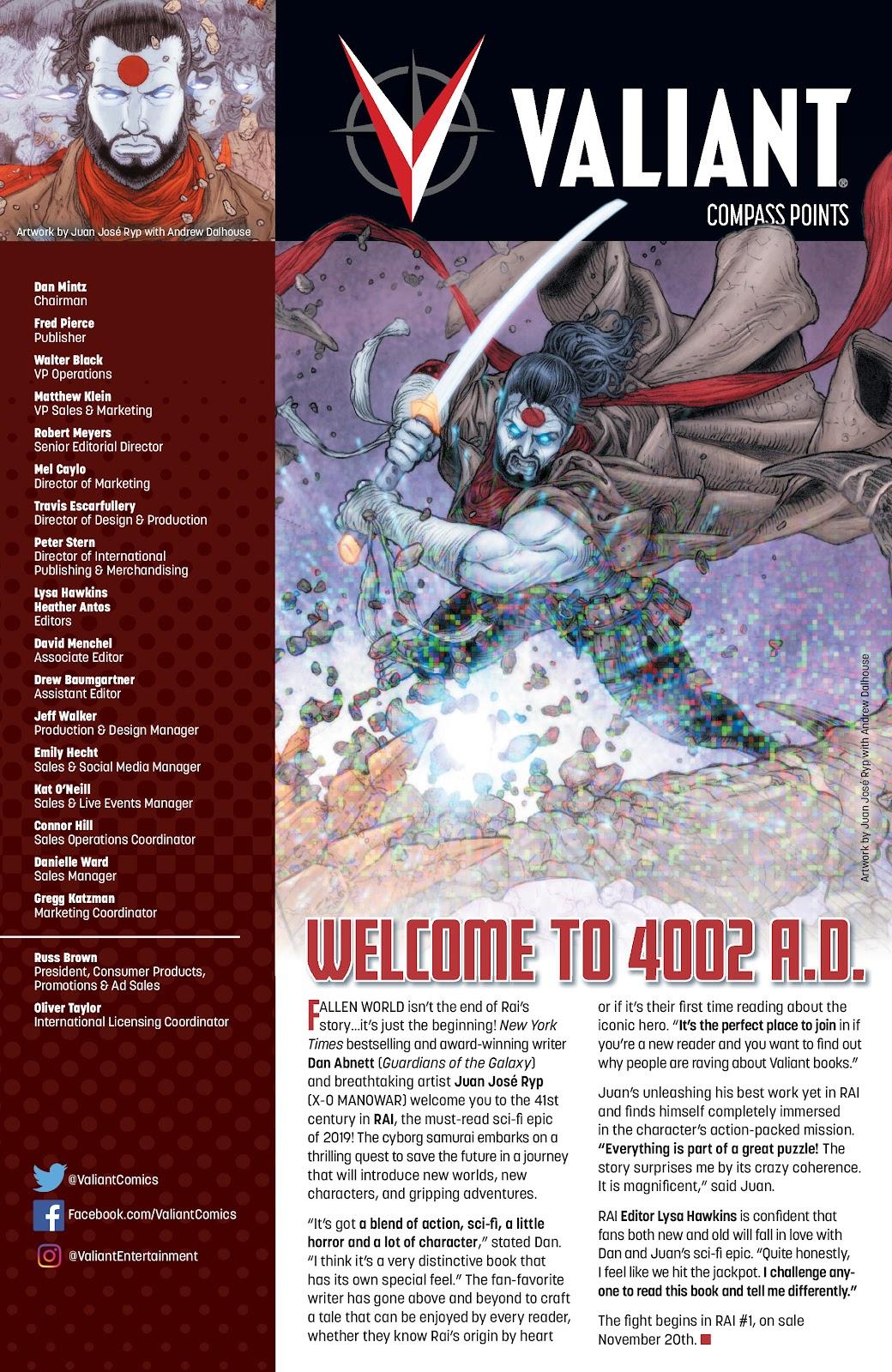 Read online Bloodshot (2019) comic -  Issue #1 - 29