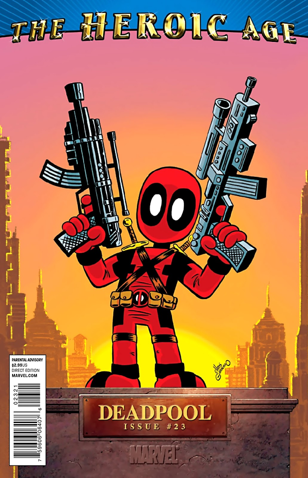 Read online Deadpool (2008) comic -  Issue #23 - 2