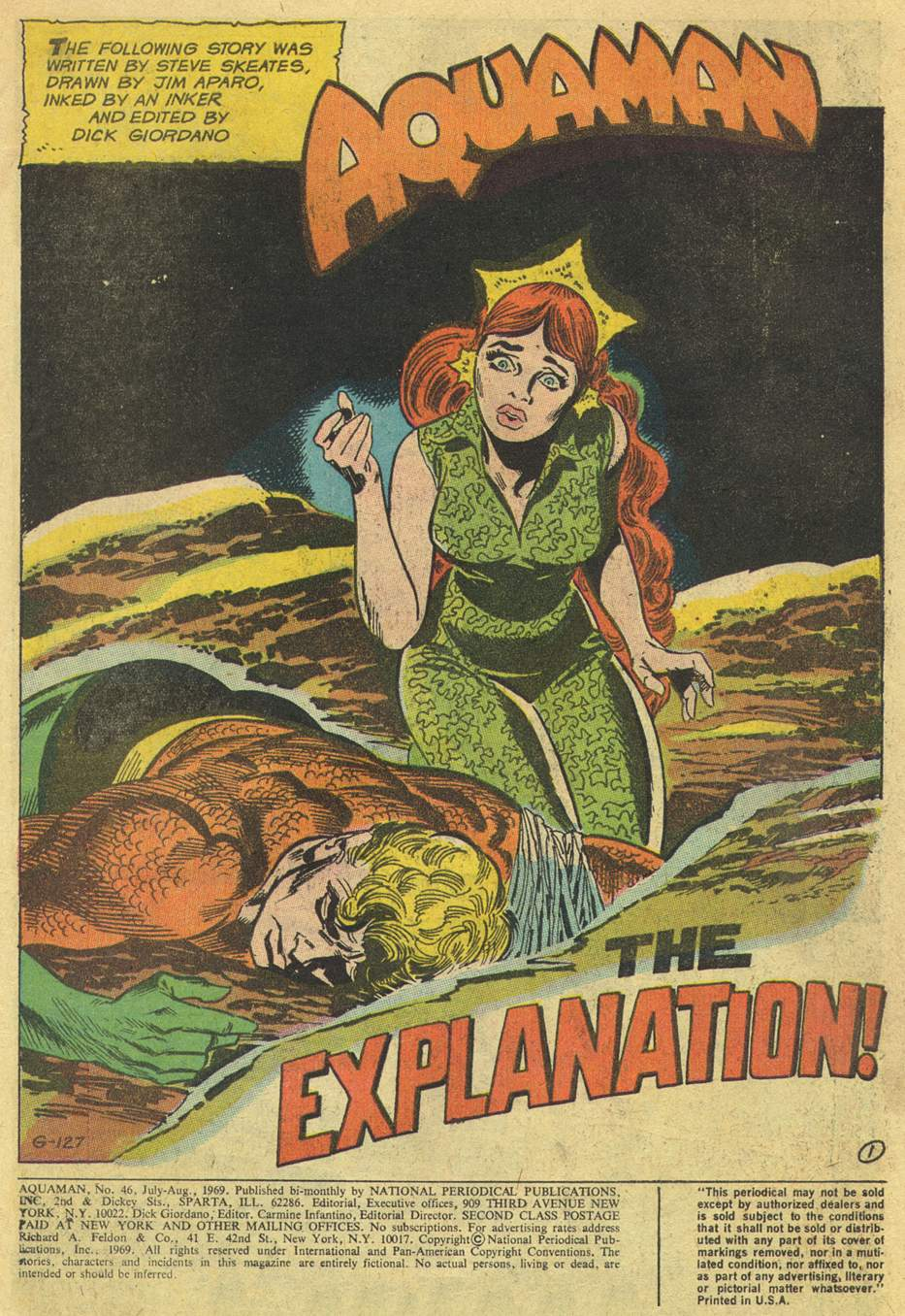 Read online Aquaman (1962) comic -  Issue #46 - 3