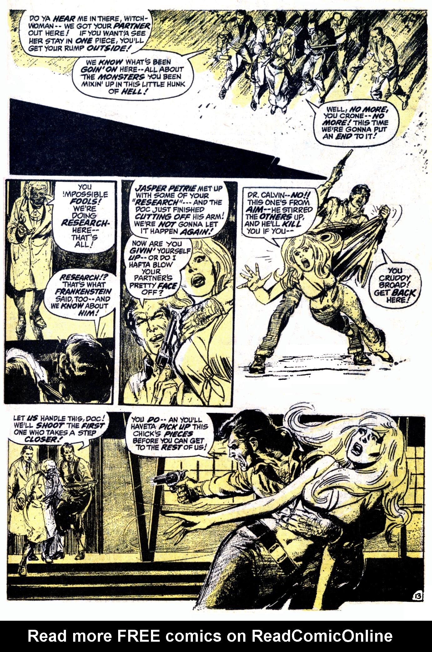 Read online Astonishing Tales (1970) comic -  Issue #12 - 14