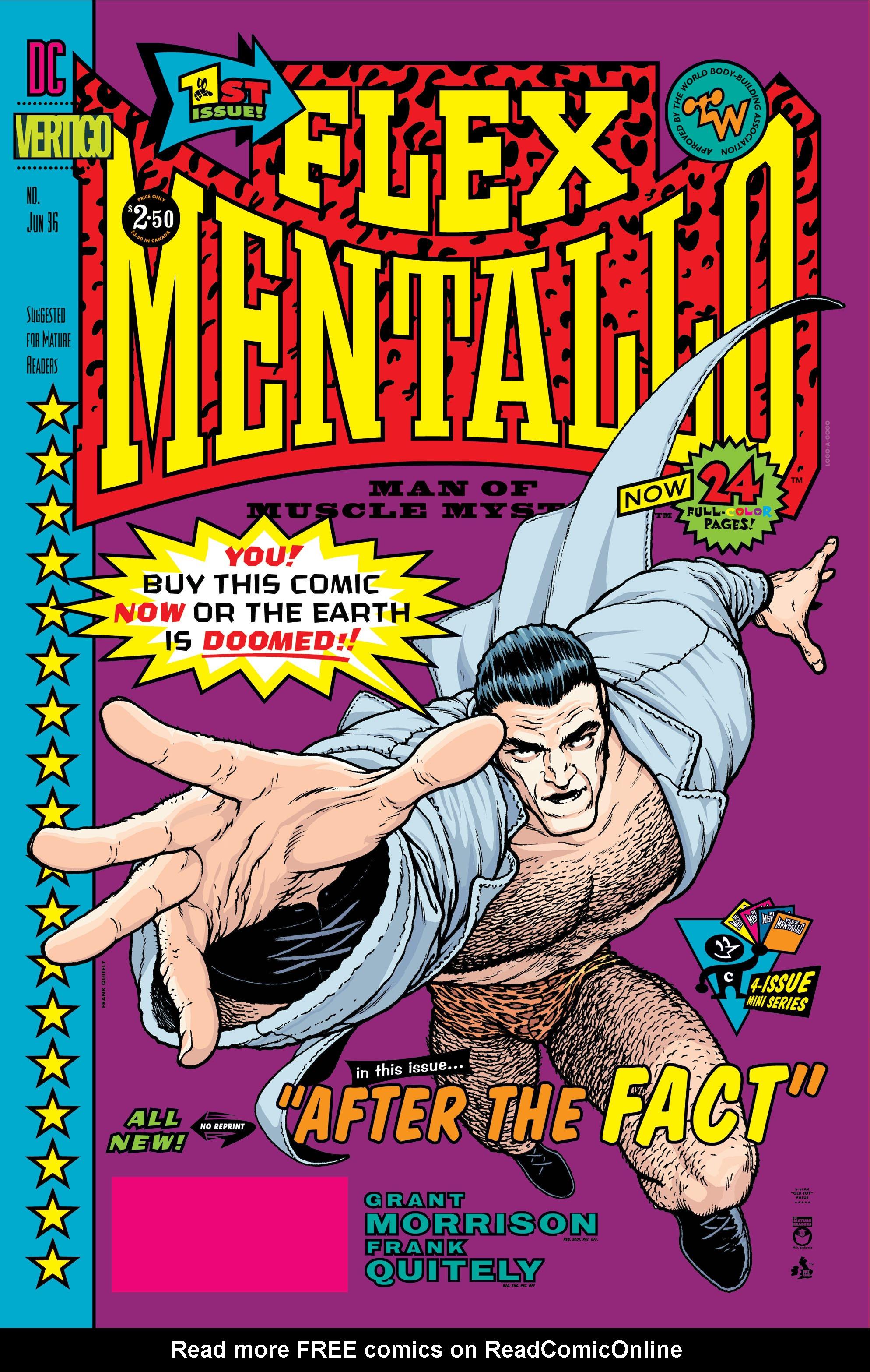 Flex Mentallo issue 1 - Page 1