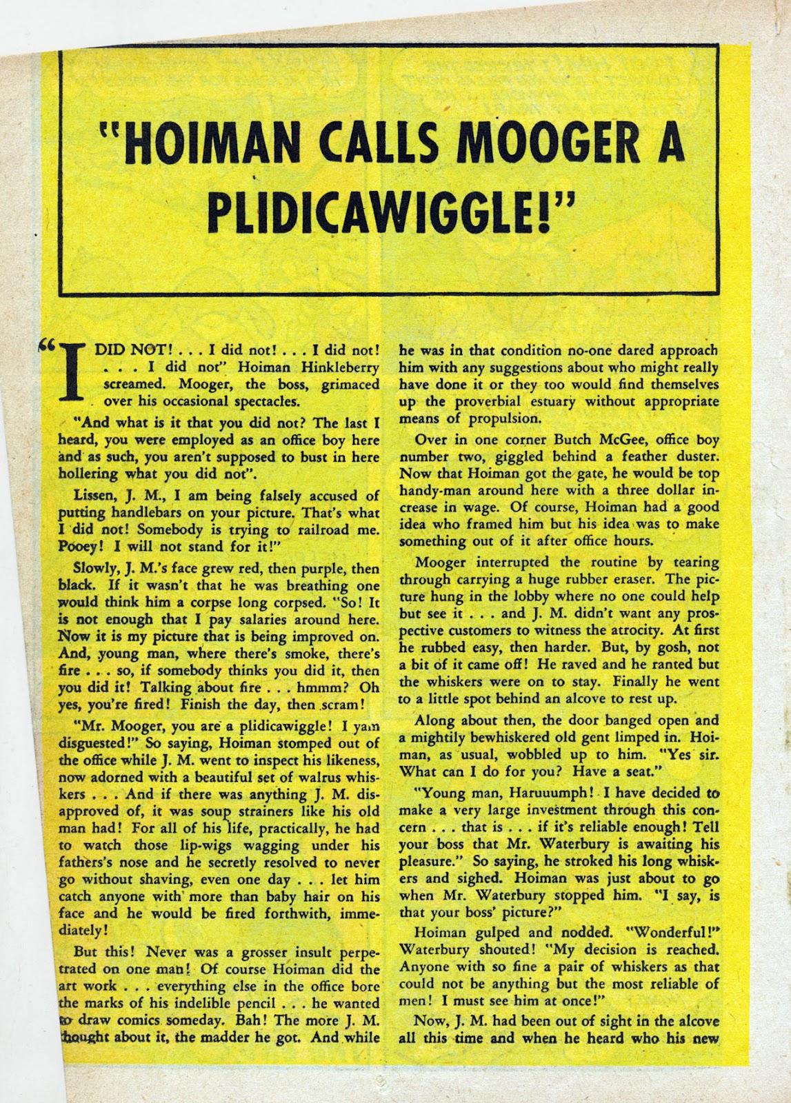 Read online Comedy Comics (1942) comic -  Issue #13 - 33