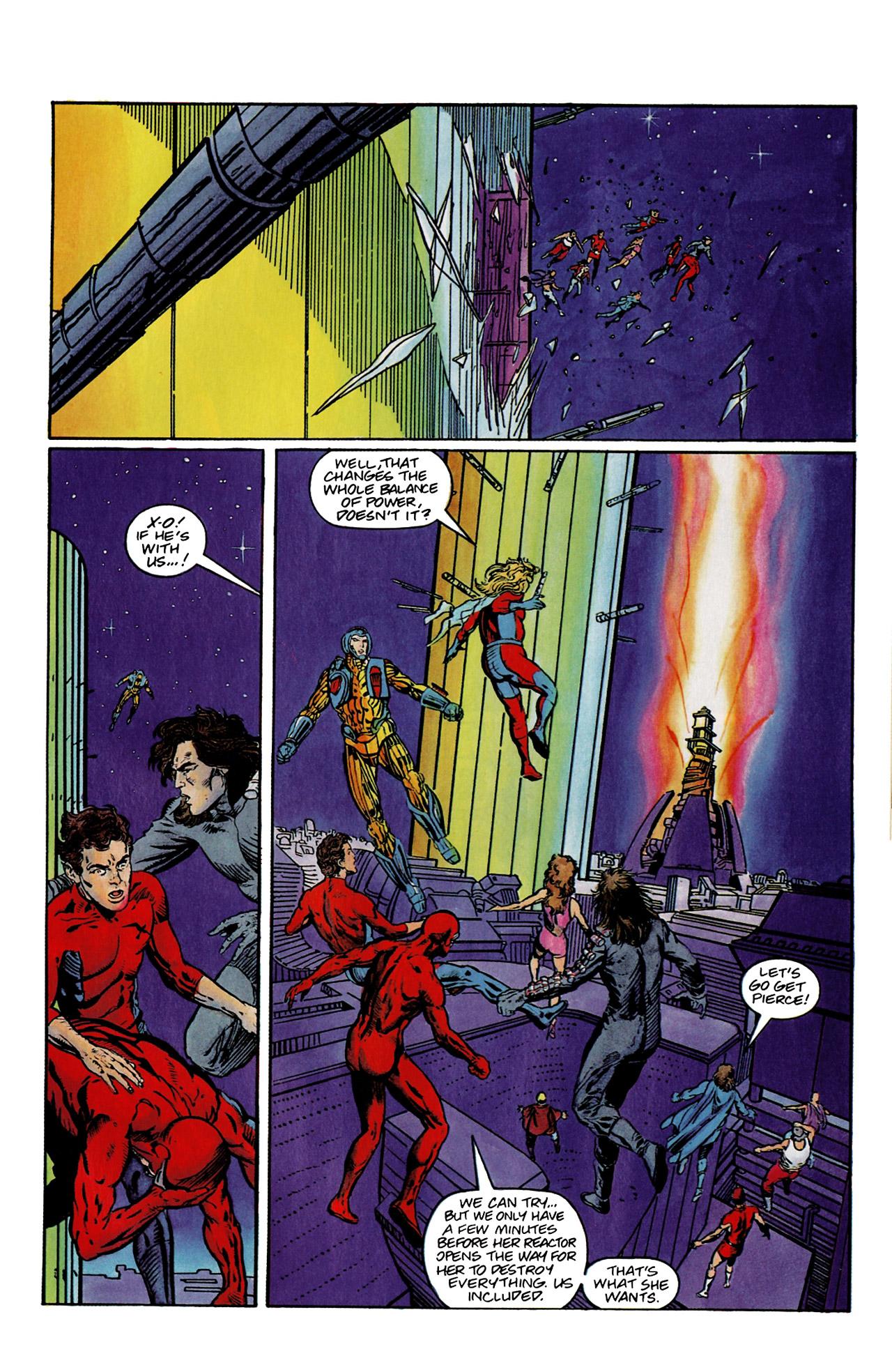 Read online Harbinger (1992) comic -  Issue #9 - 17