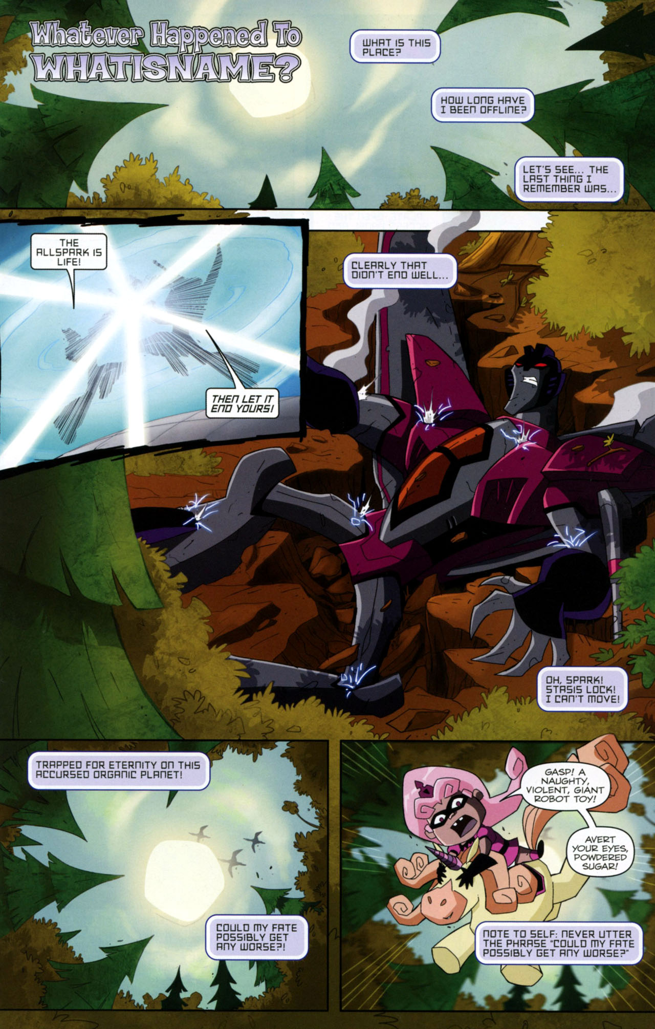 Read online Transformers Animated: The Arrival comic -  Issue #2 - 22